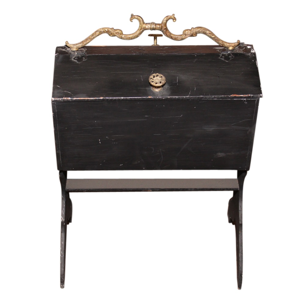 Wood Sewing Chest, Early 20th Century