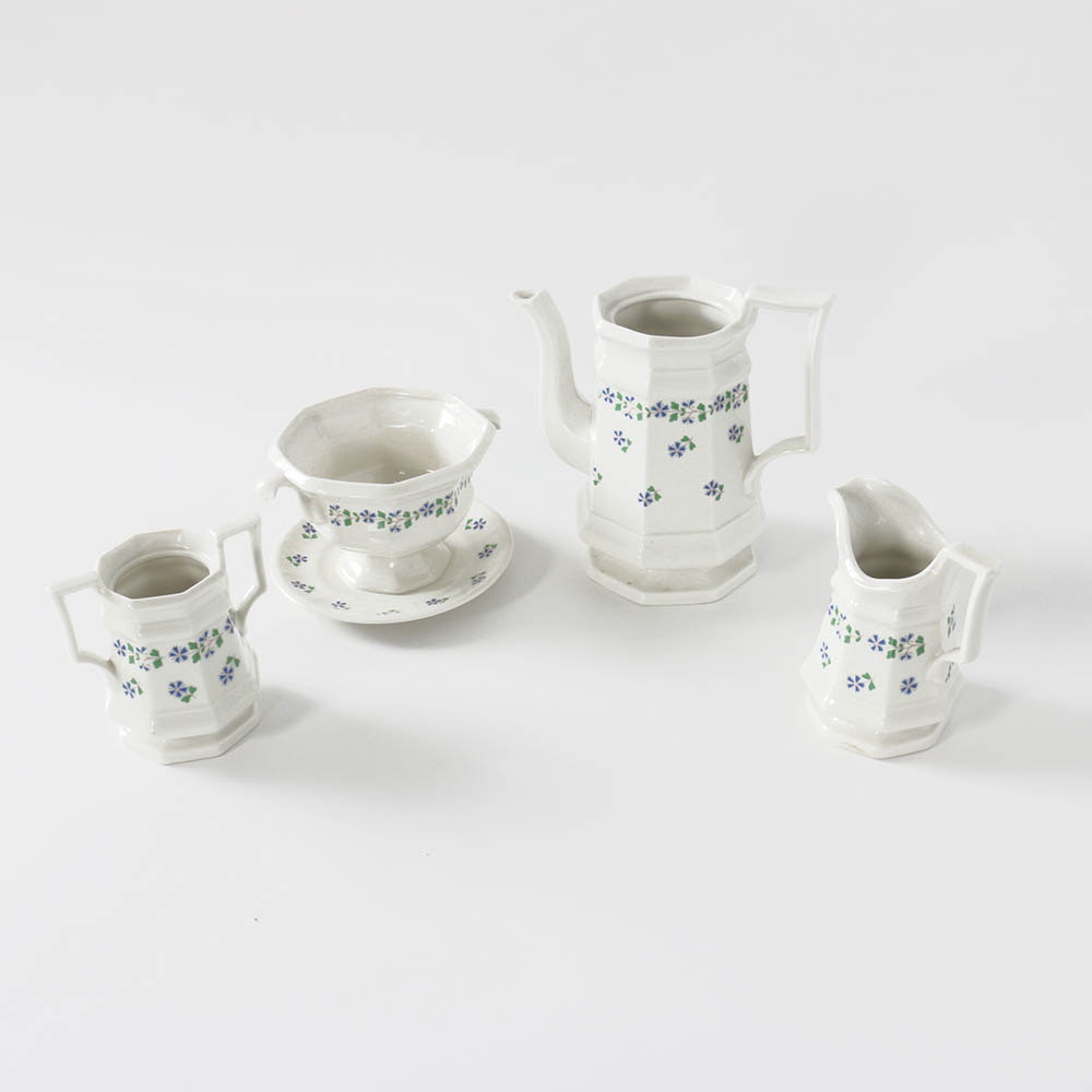 """Henry Ford Museum Collection by Iroquois """"Periwinkle"""" Serveware"""
