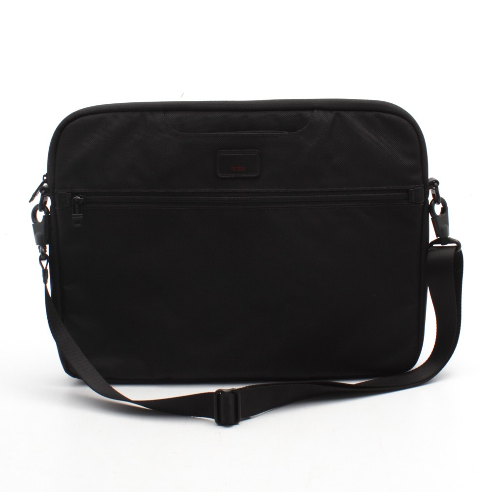 Tumi Black Nylon Laptop Bag