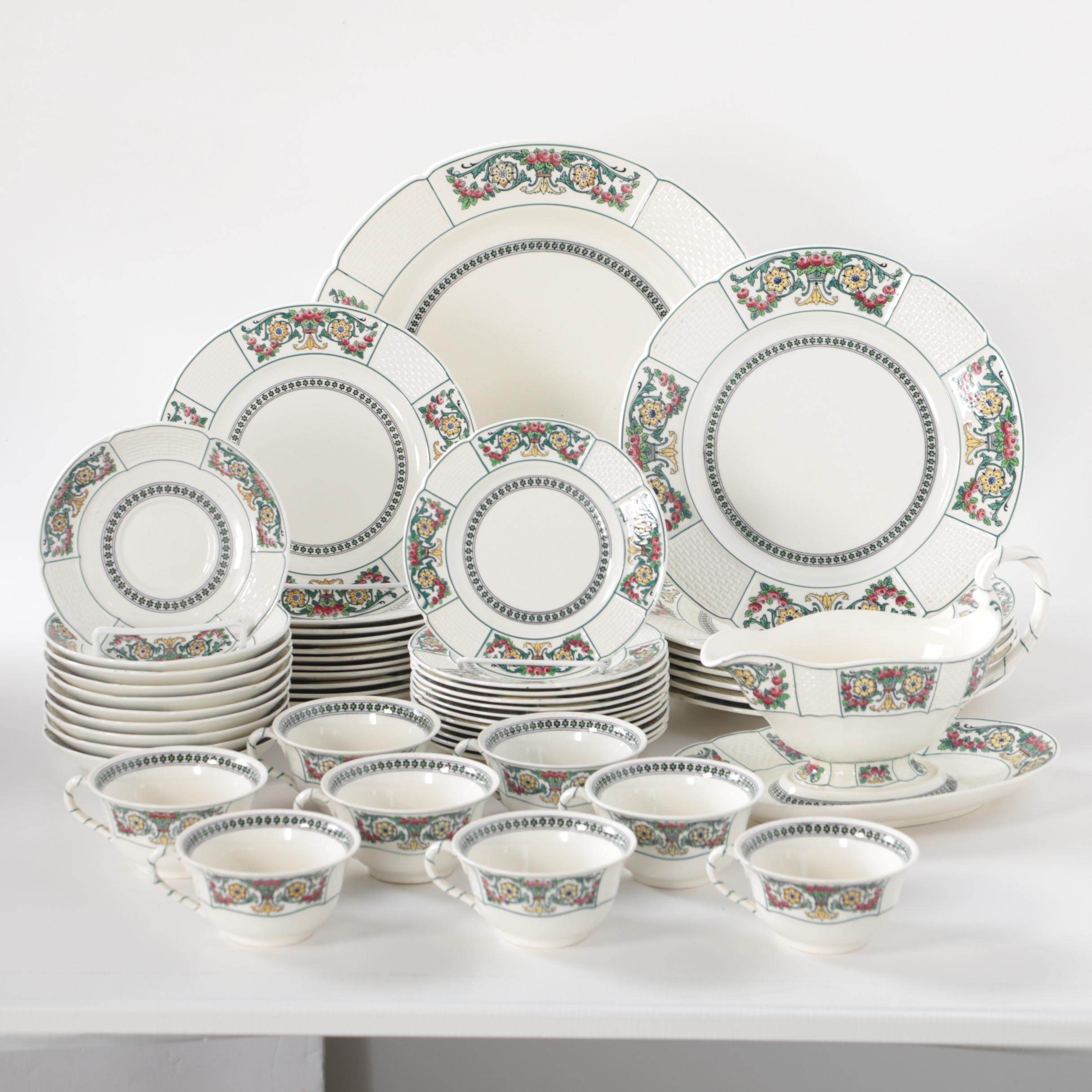 "Wedgwood ""Hythe"" Earthenware Dinnerware"