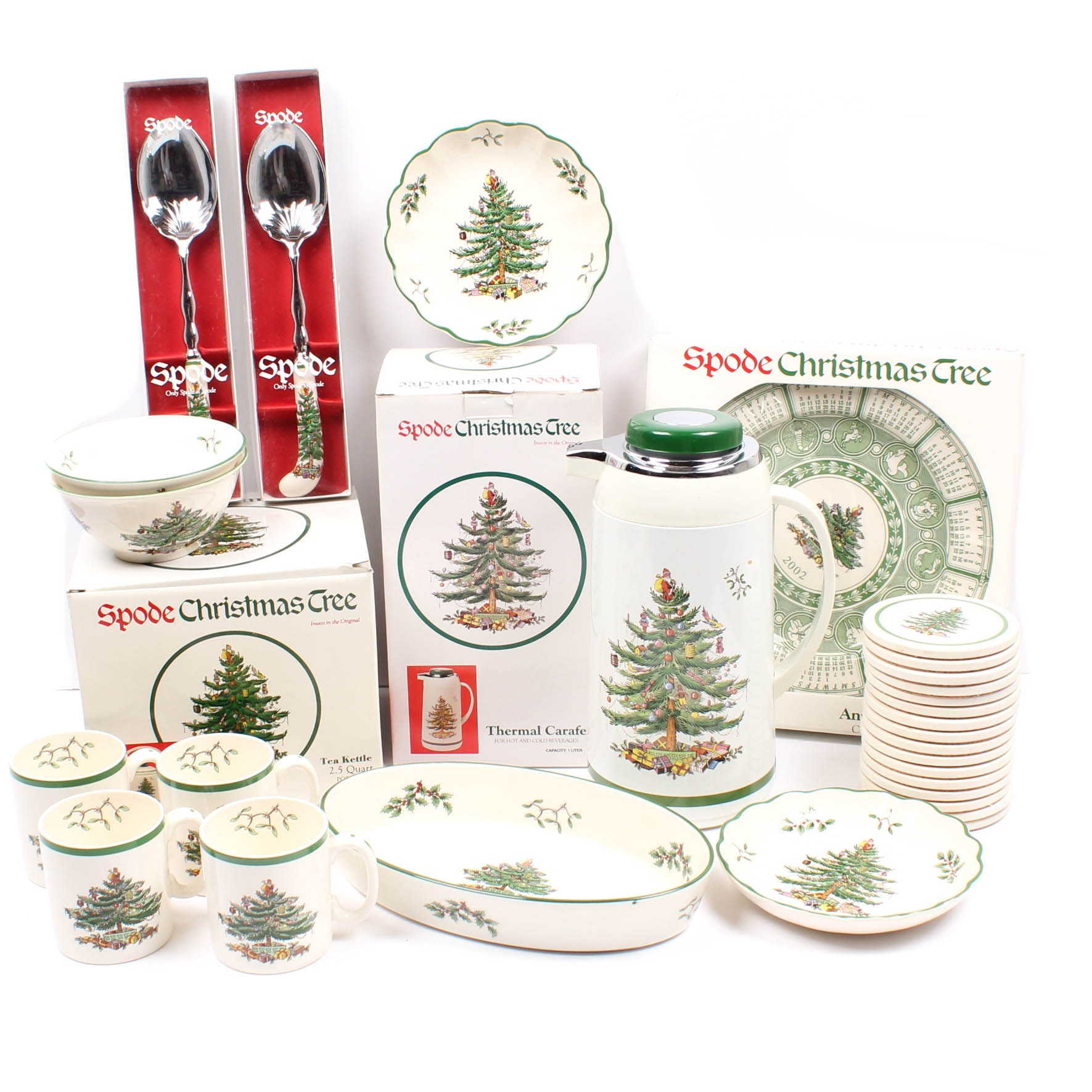 "Spode ""Christmas Tree"" Tableware"