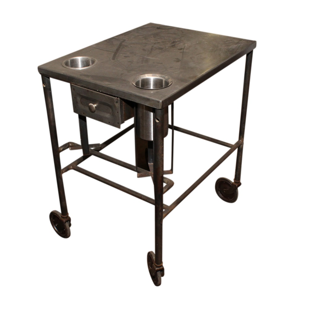 Metal Utility Cart, Mid/Early 20th Century