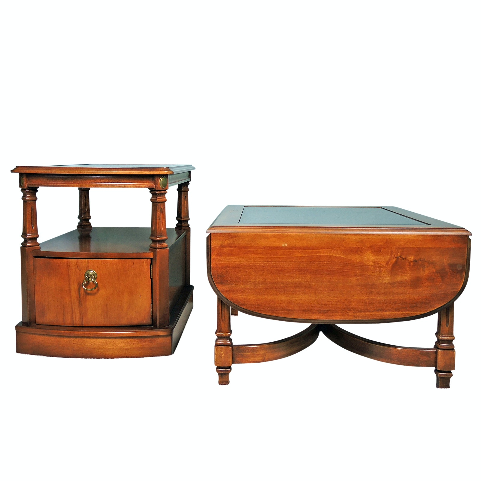 Peters-Revington Coffee Table and End Table, Late 20th Century