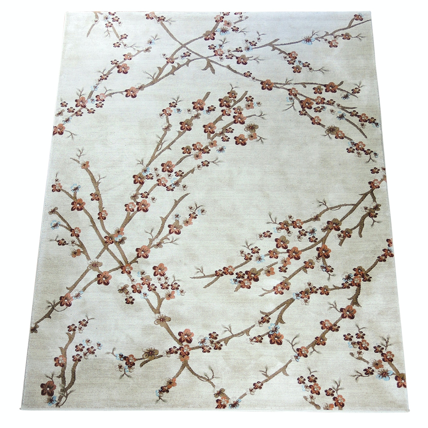 """Power-Loomed Classique Collection """"Branches"""" Area Rug"""