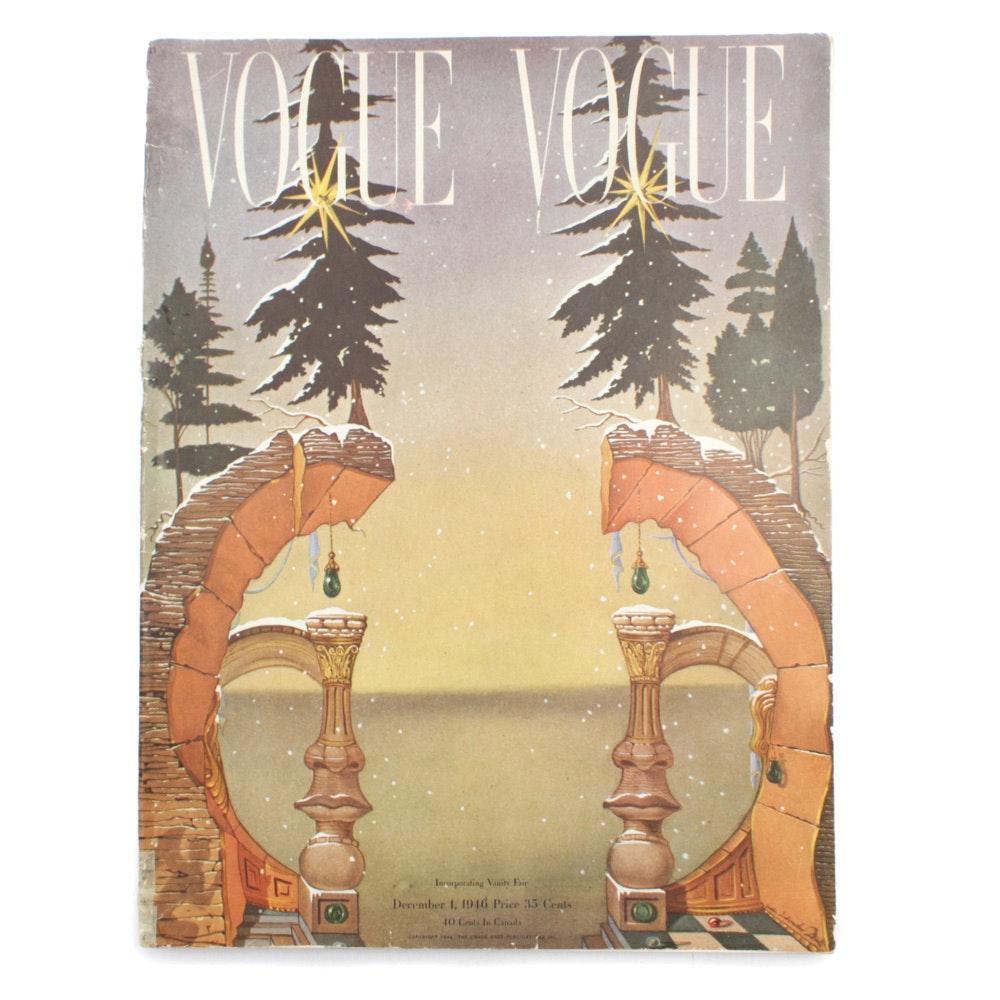 "Salvador Dalí Illustrated 1946 ""Vogue"" Special Edition"