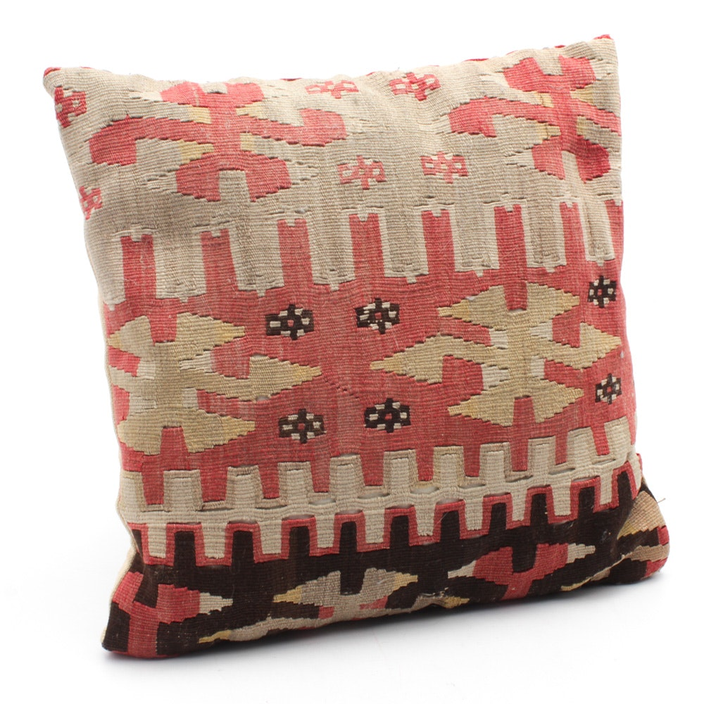 Kilim Covered Pillow