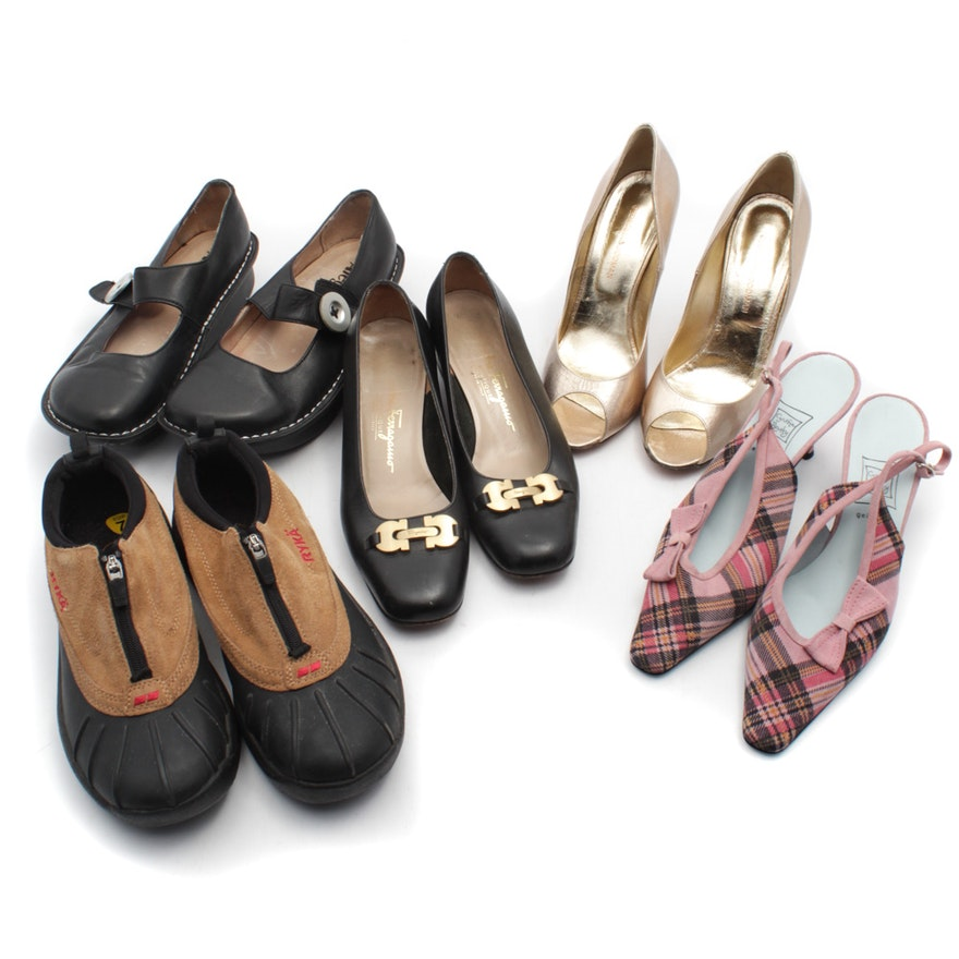 Women s Casual and Dress Shoes featuring Salvatore Ferragamo   EBTH ae1378f88