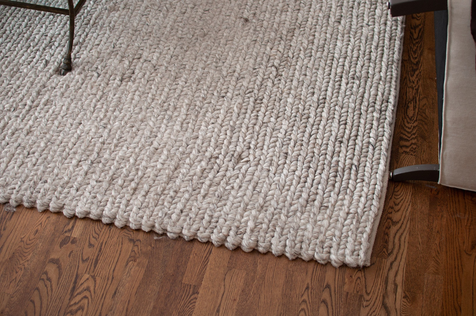 """""""Chunky Braided"""" Area Rug by B. Solemani for Restoration Hardware"""
