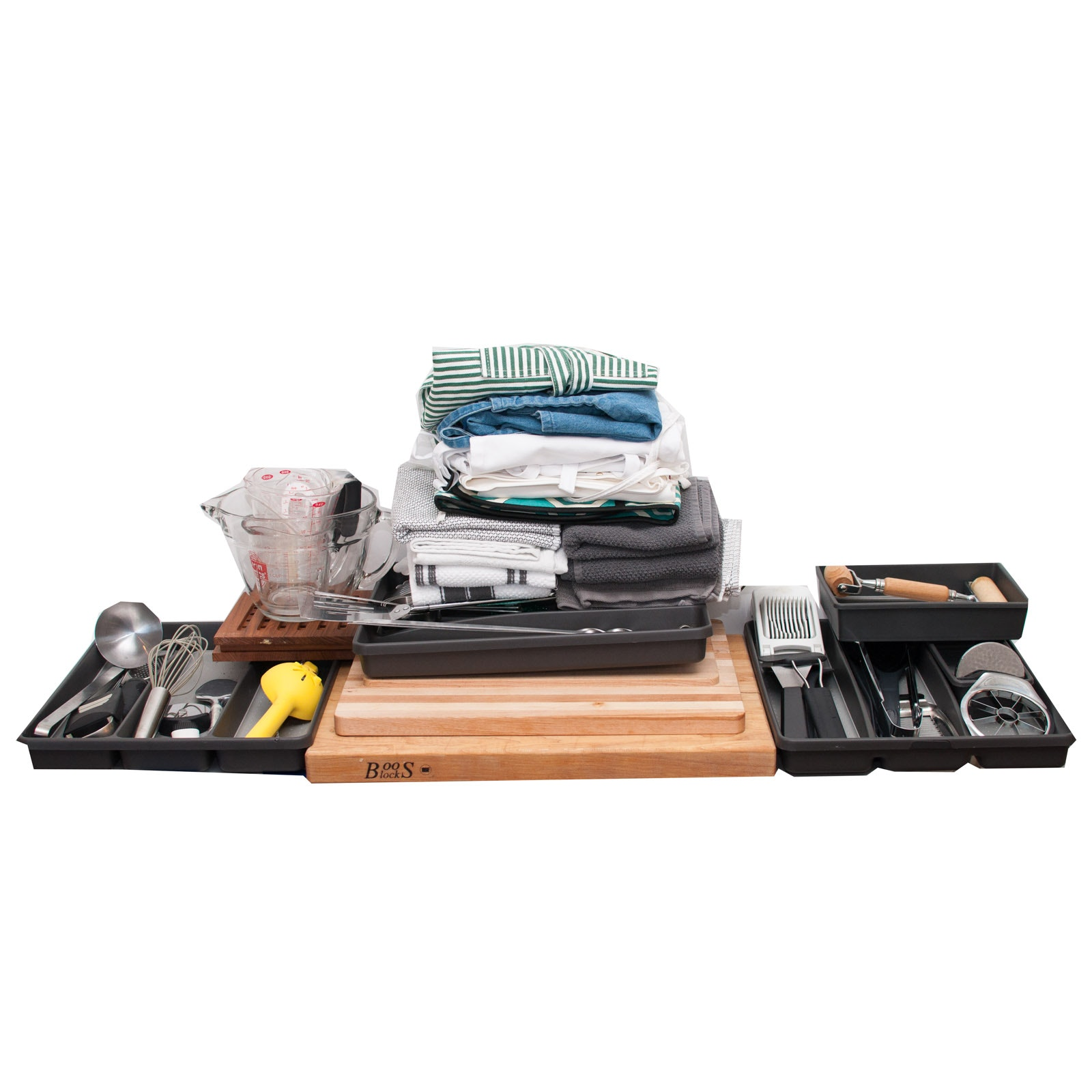 Kitchen Utensils, Cutting Boards and Linens