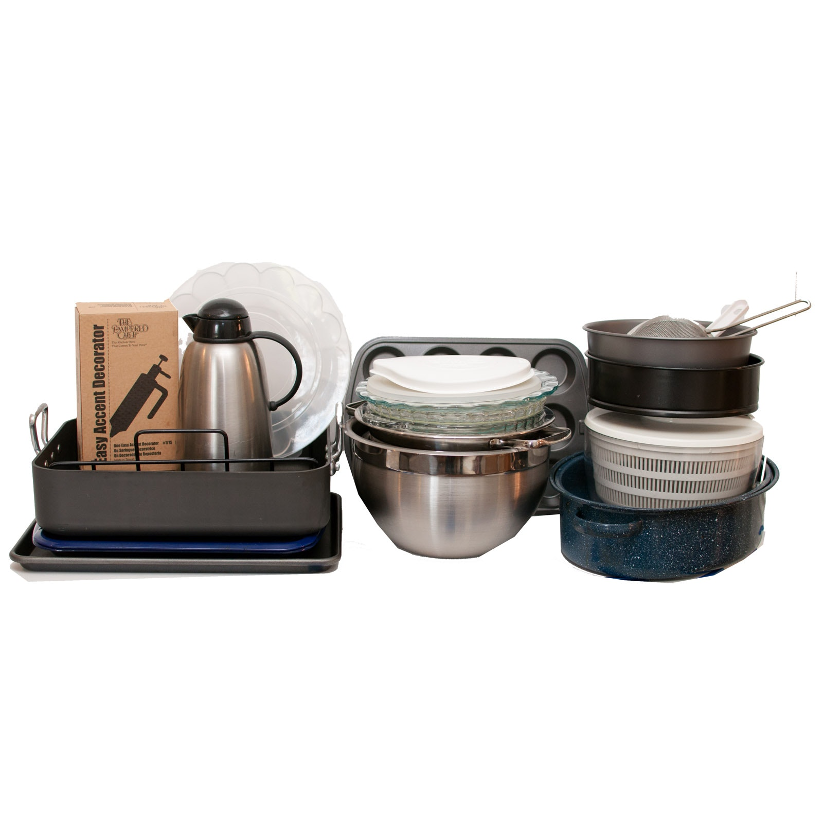 Bakeware Including Kirkland, Pampered Chef, Pyrex and More