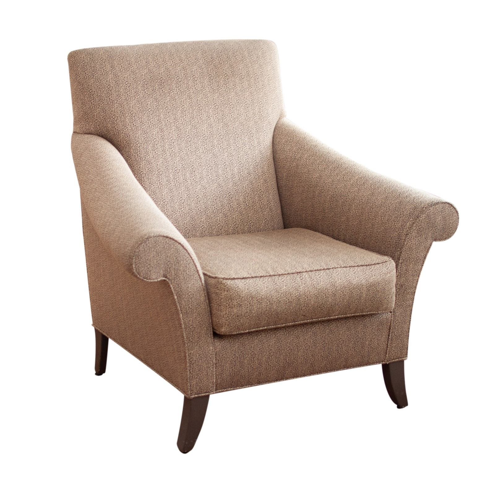 Contemporary Upholstered Armchair by Henredon