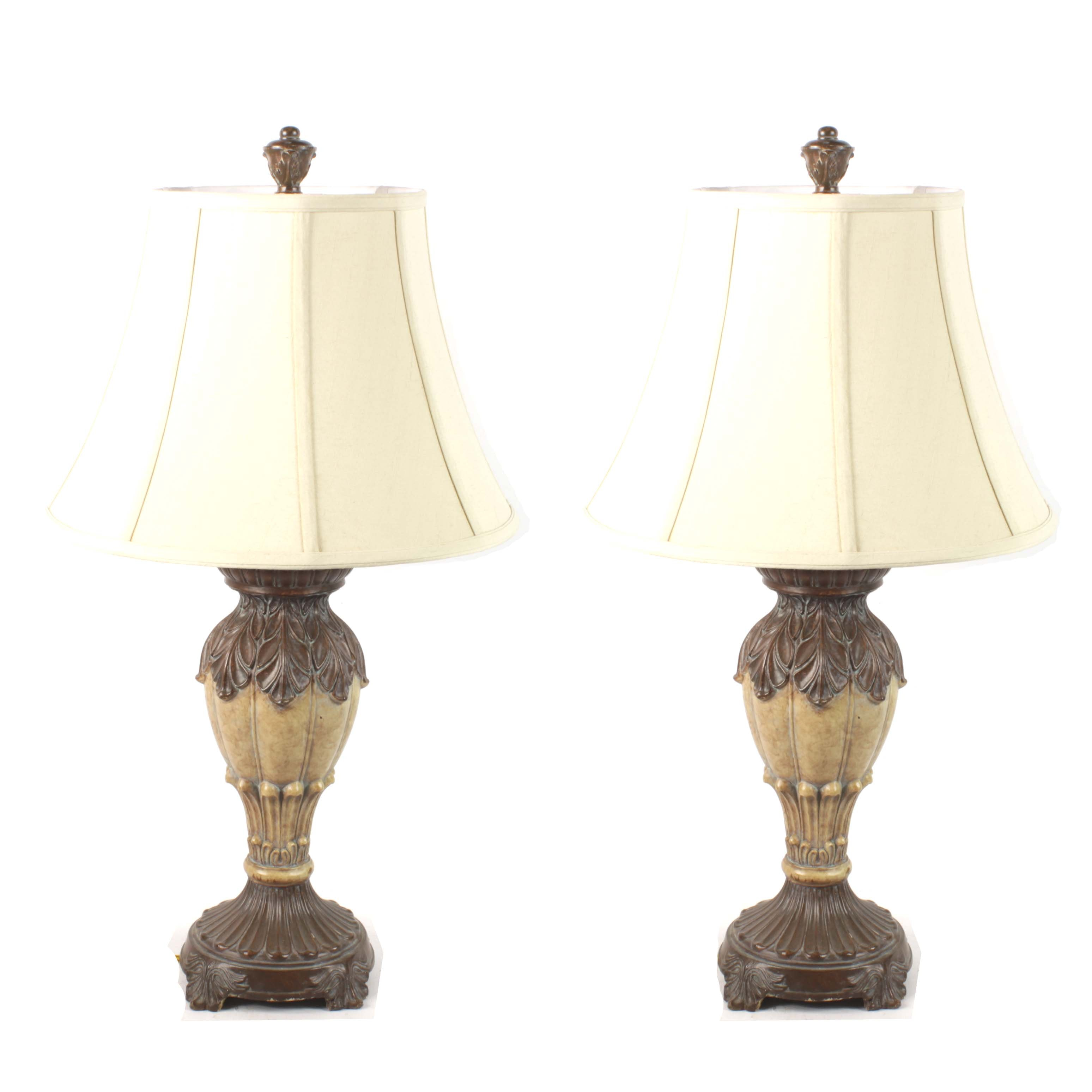 Acanthus Leaf Table Lamps
