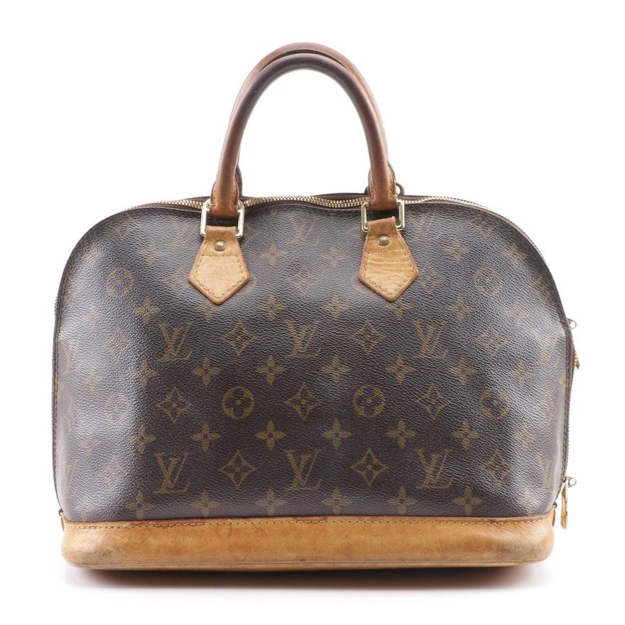8613167da1ac 2005 Louis Vuitton Monogram Canvas Alma Bag   EBTH
