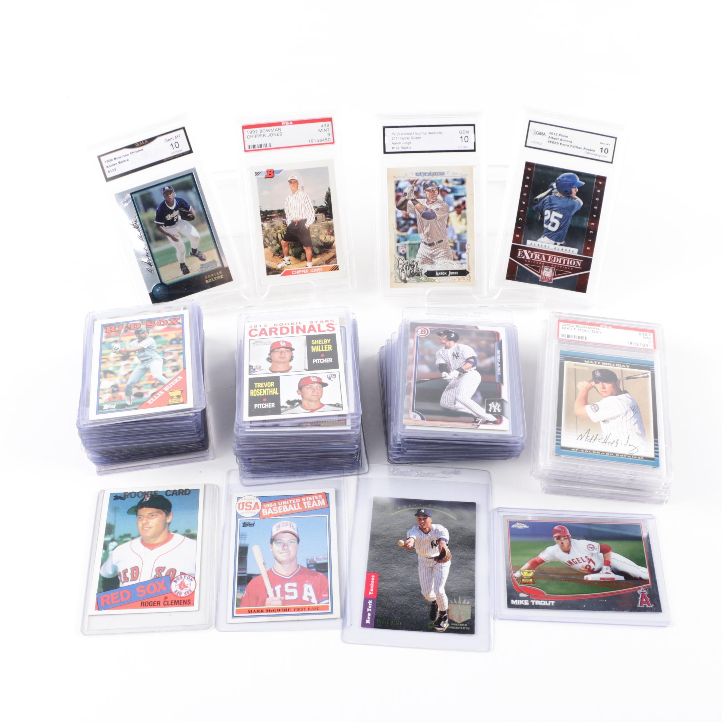 1980s to Present Baseball Cards with Derek Jeter 1993 Upper Deck SP Foil Rookie