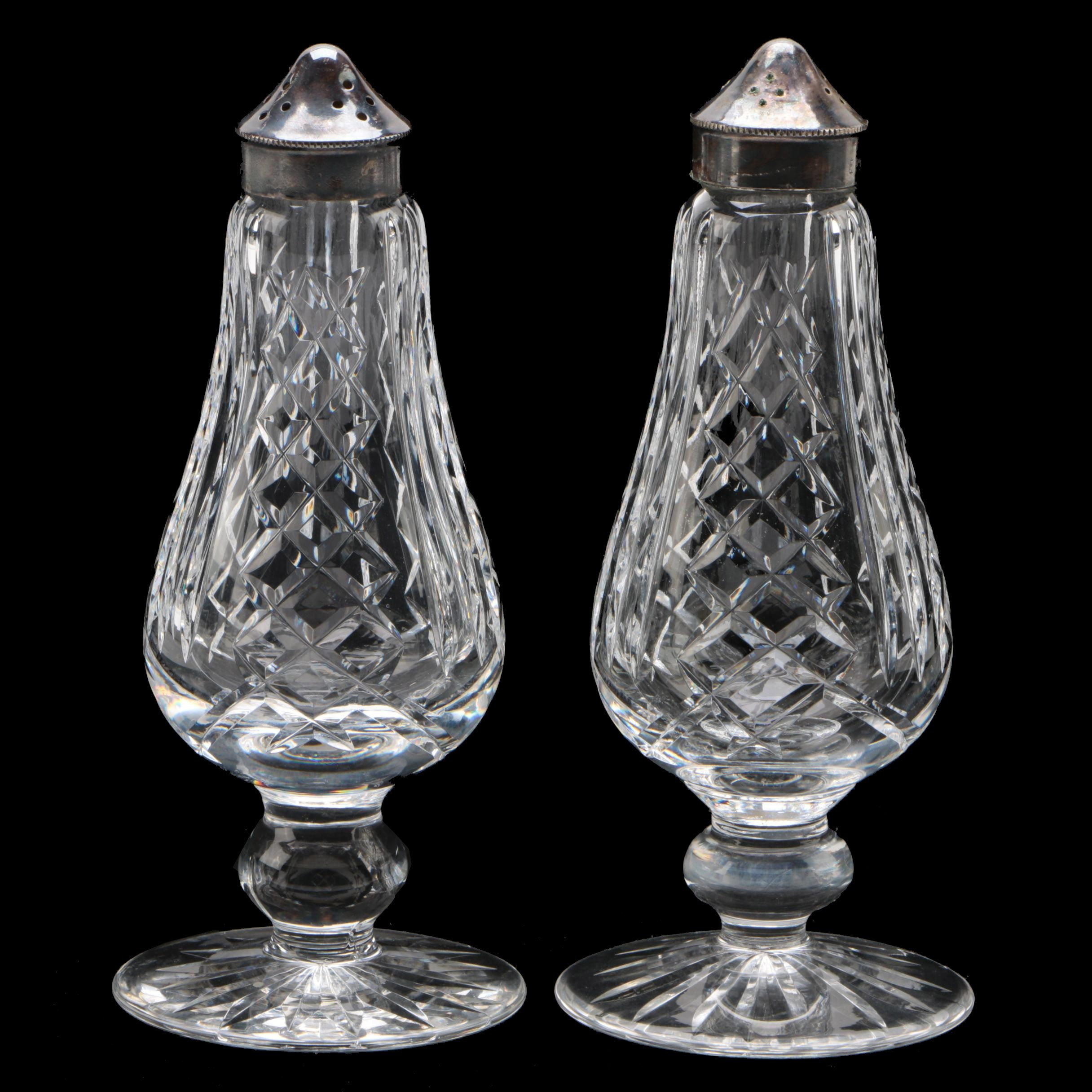 Waterford Crystal Salt and Pepper Shakers