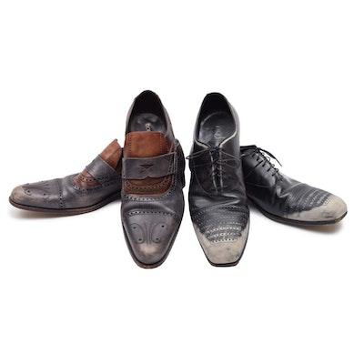 7f749c38fc19 Men s Dolce   Gabbana and Prada Dress Shoes