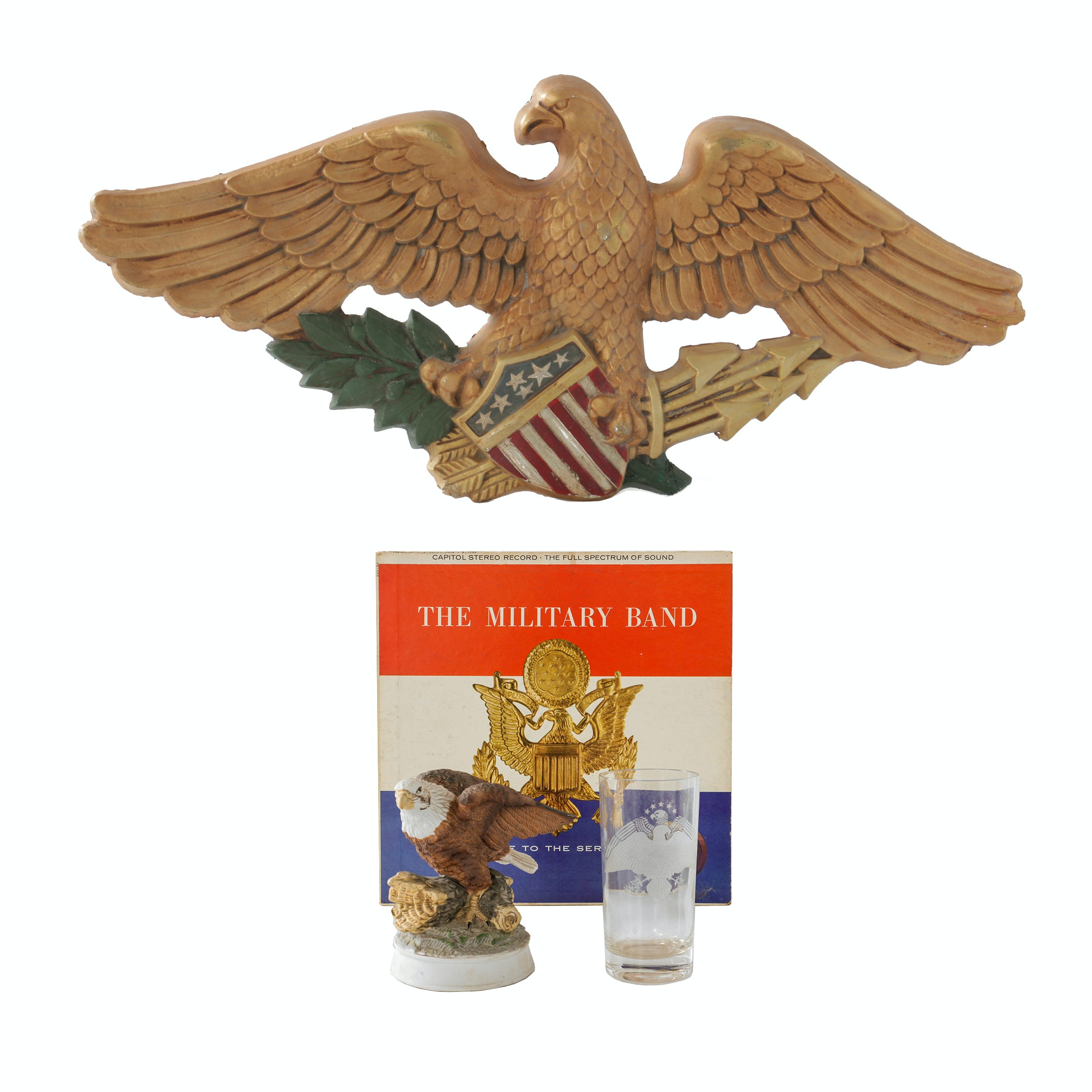 """Four Vintage Eagle Themed Items from """"Carol"""""""