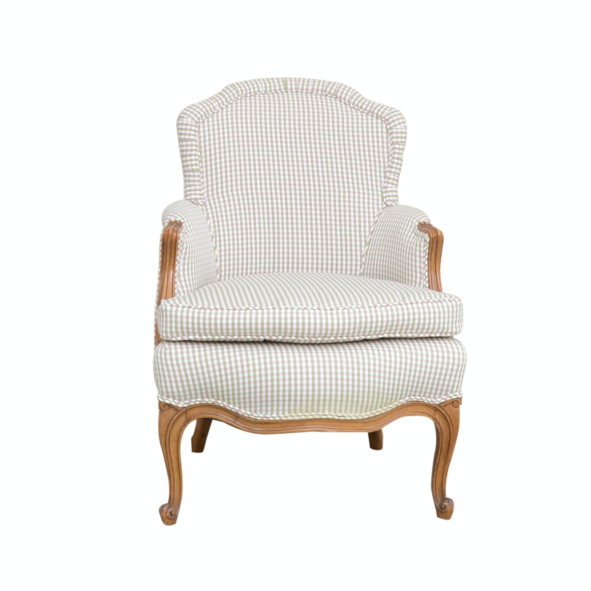 Upholstered Occasional Chair with Down-Filled Cushion
