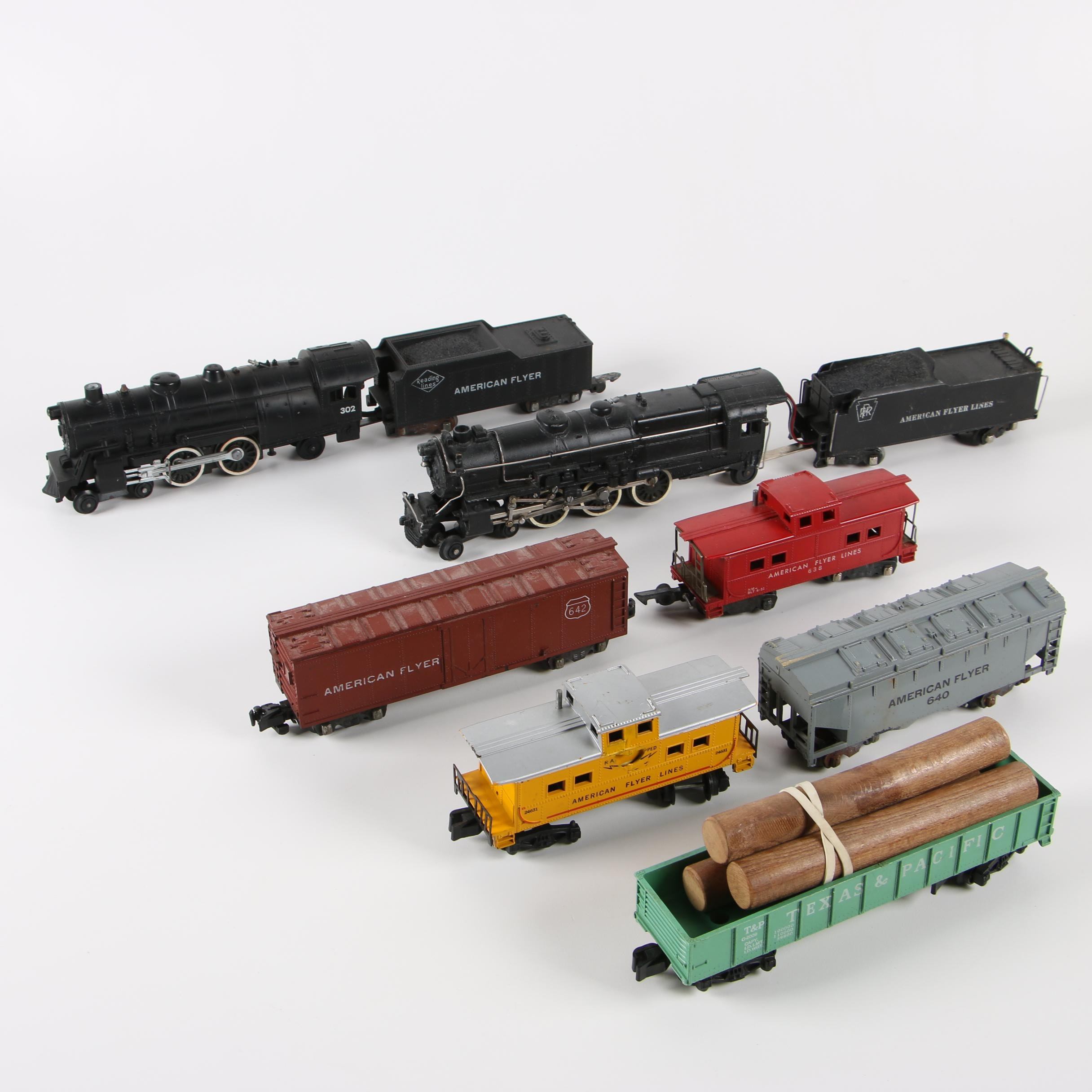A.C. Gilbert Co. American Flyer S-Scale Trains