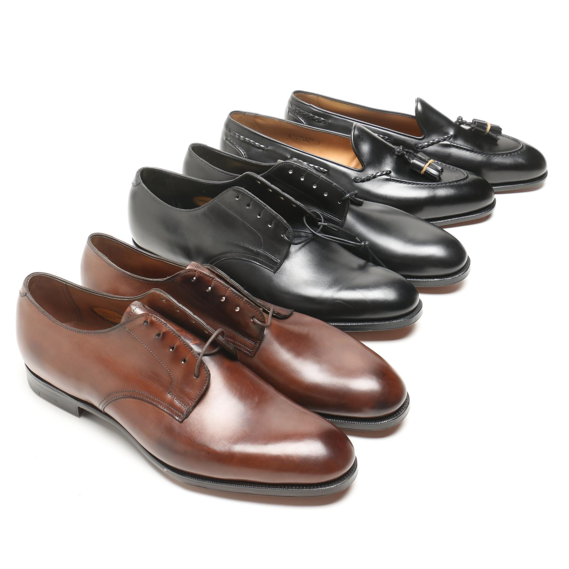 Men's Edward Green Leather Dress Shoes