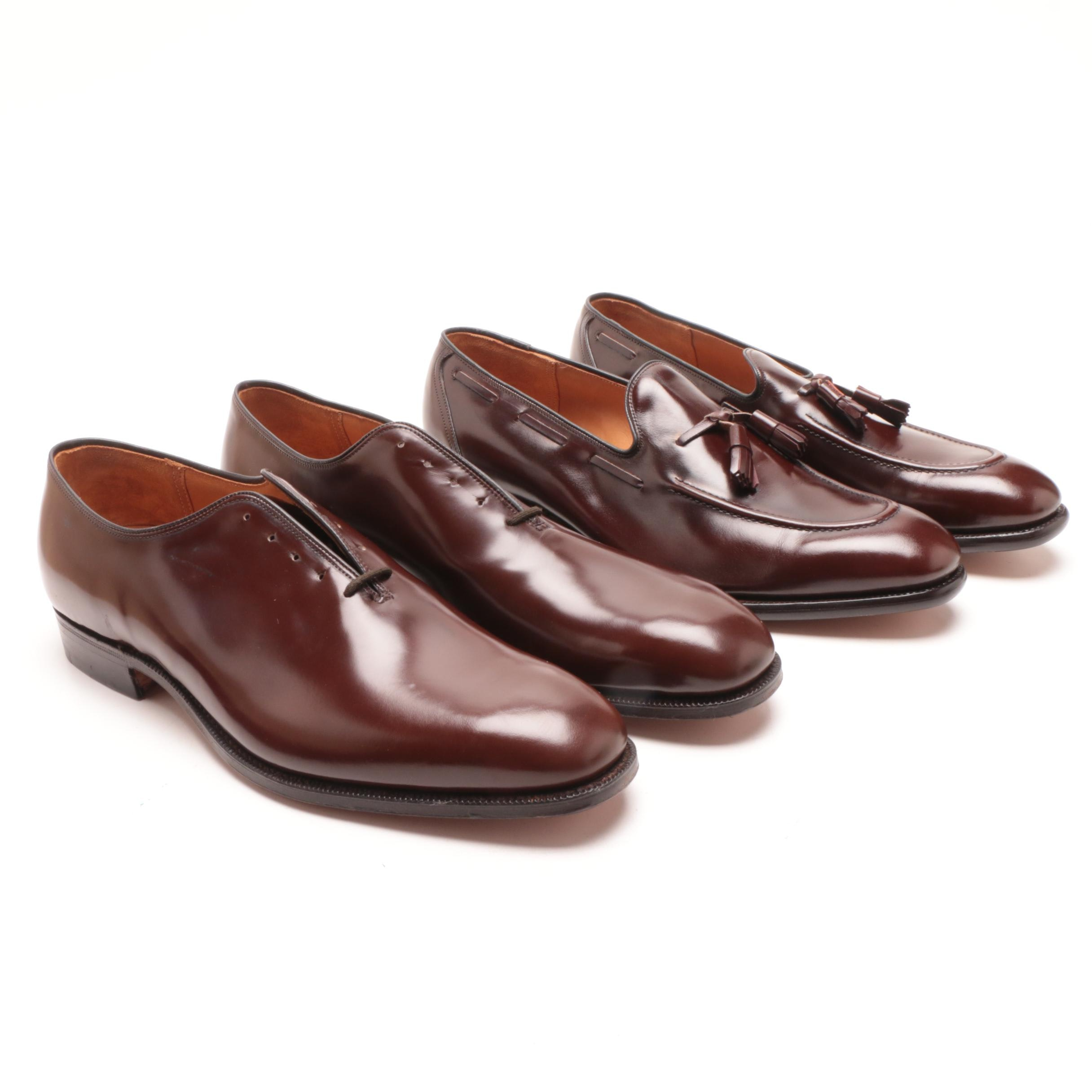 Men's Church's Custom Grade Brown Leather Oxfords and Loafers