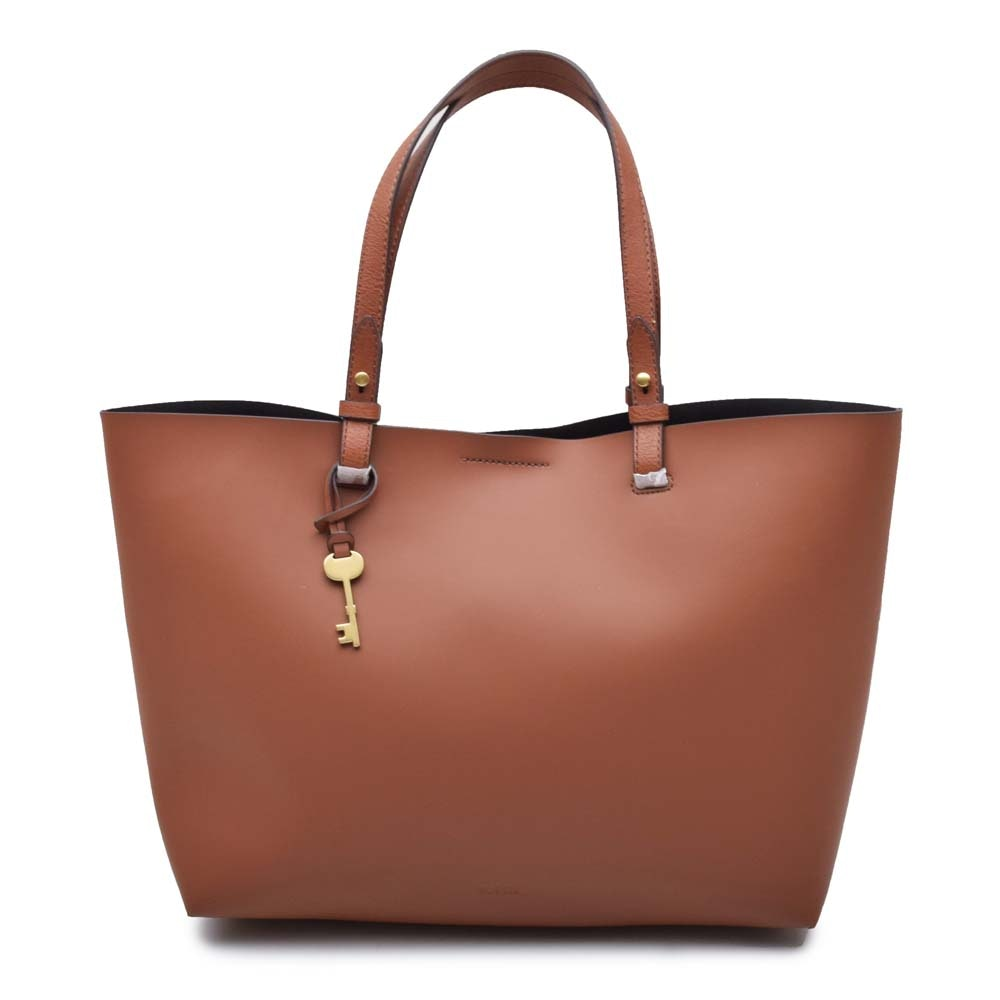 "Fossil ""Rachel"" Leather Tote Bag"