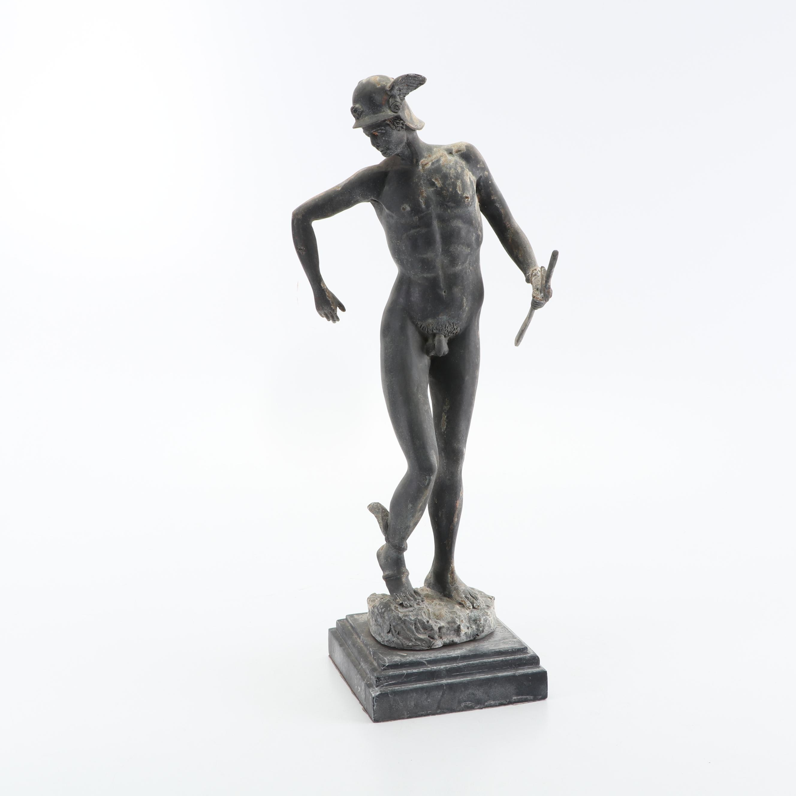 Resin Sculpture of Mercury