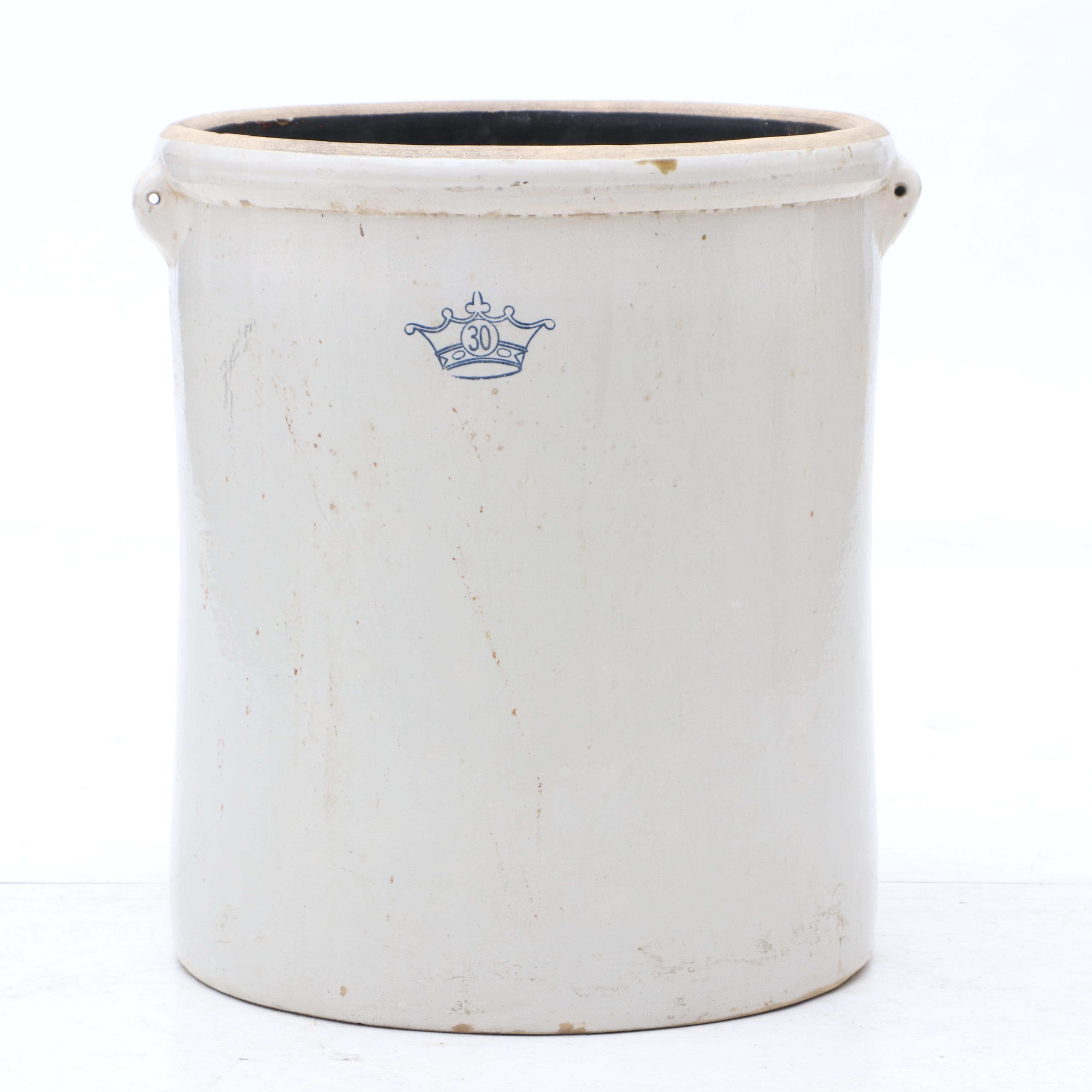 Robinson Ransbottom 30 Gallon Stoneware Crock