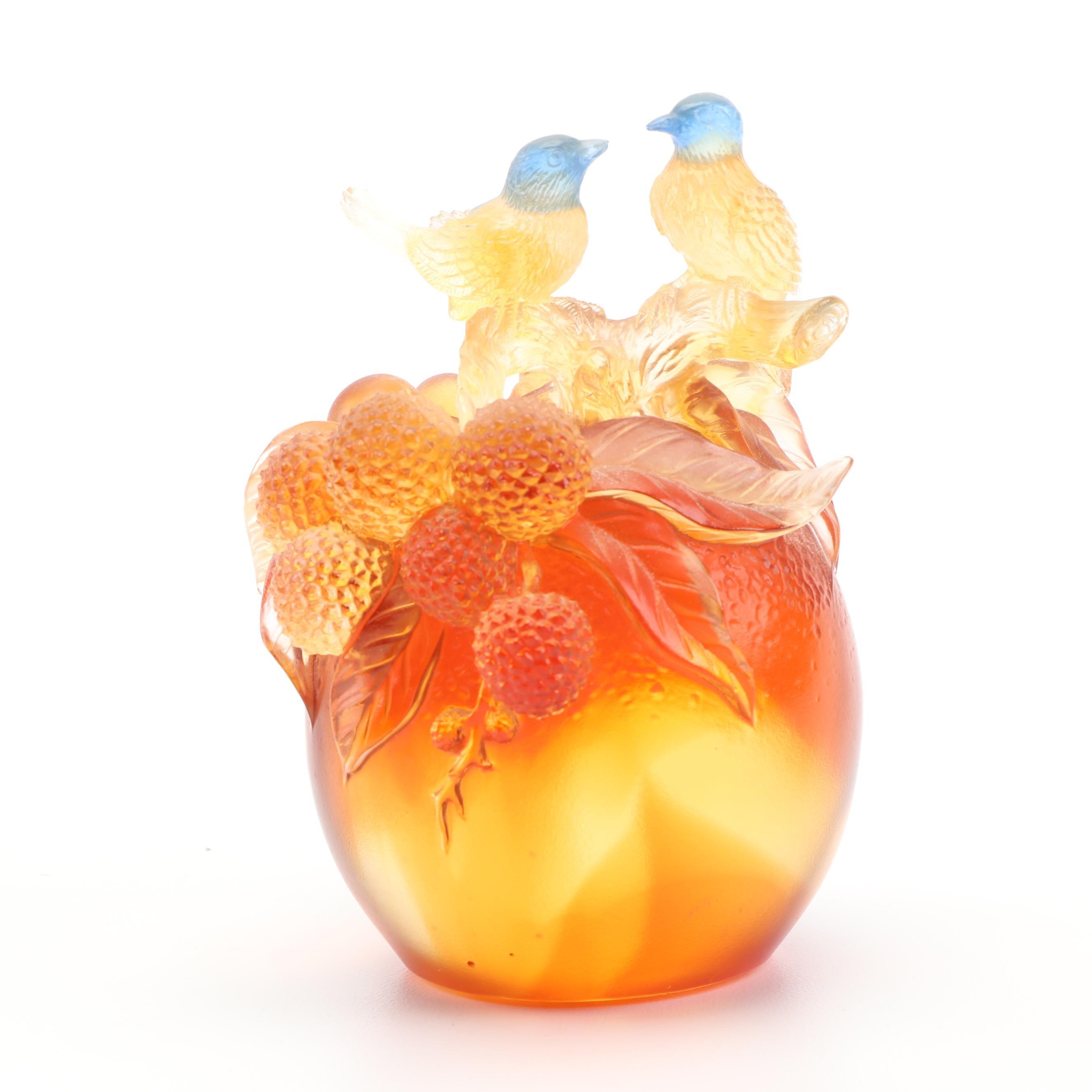 Tittot  Art Glass Paperweight