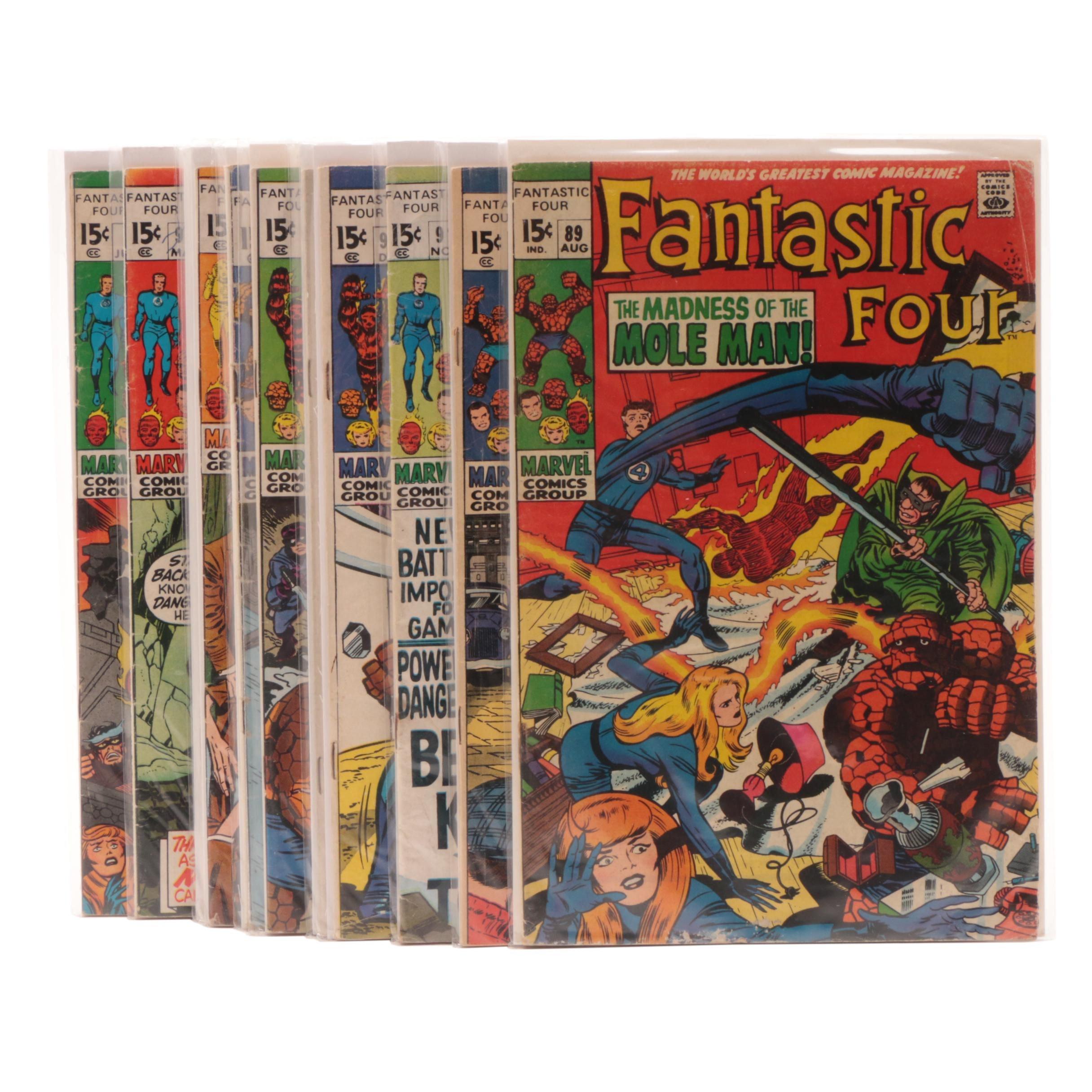 "Silver Age ""Fantastic Four"" Comic Books"