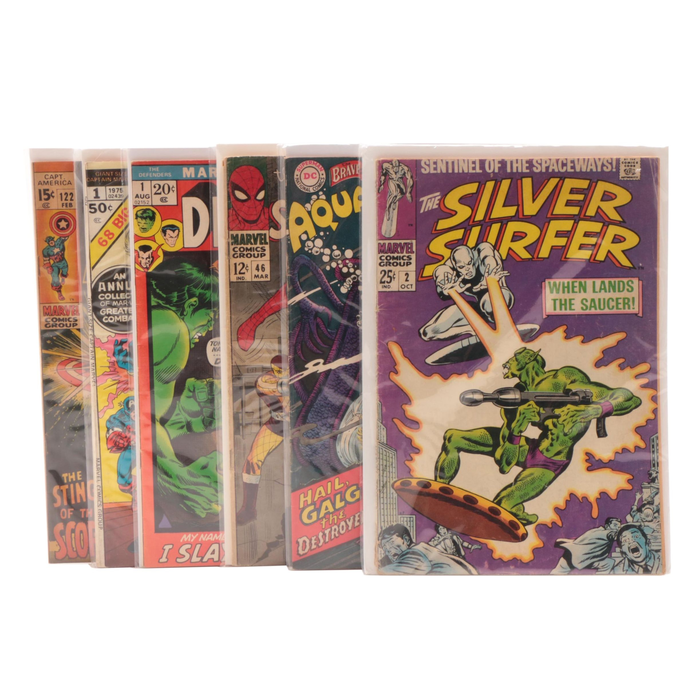"""Silver Surfer"" #2 and Other Silver Age Comics"