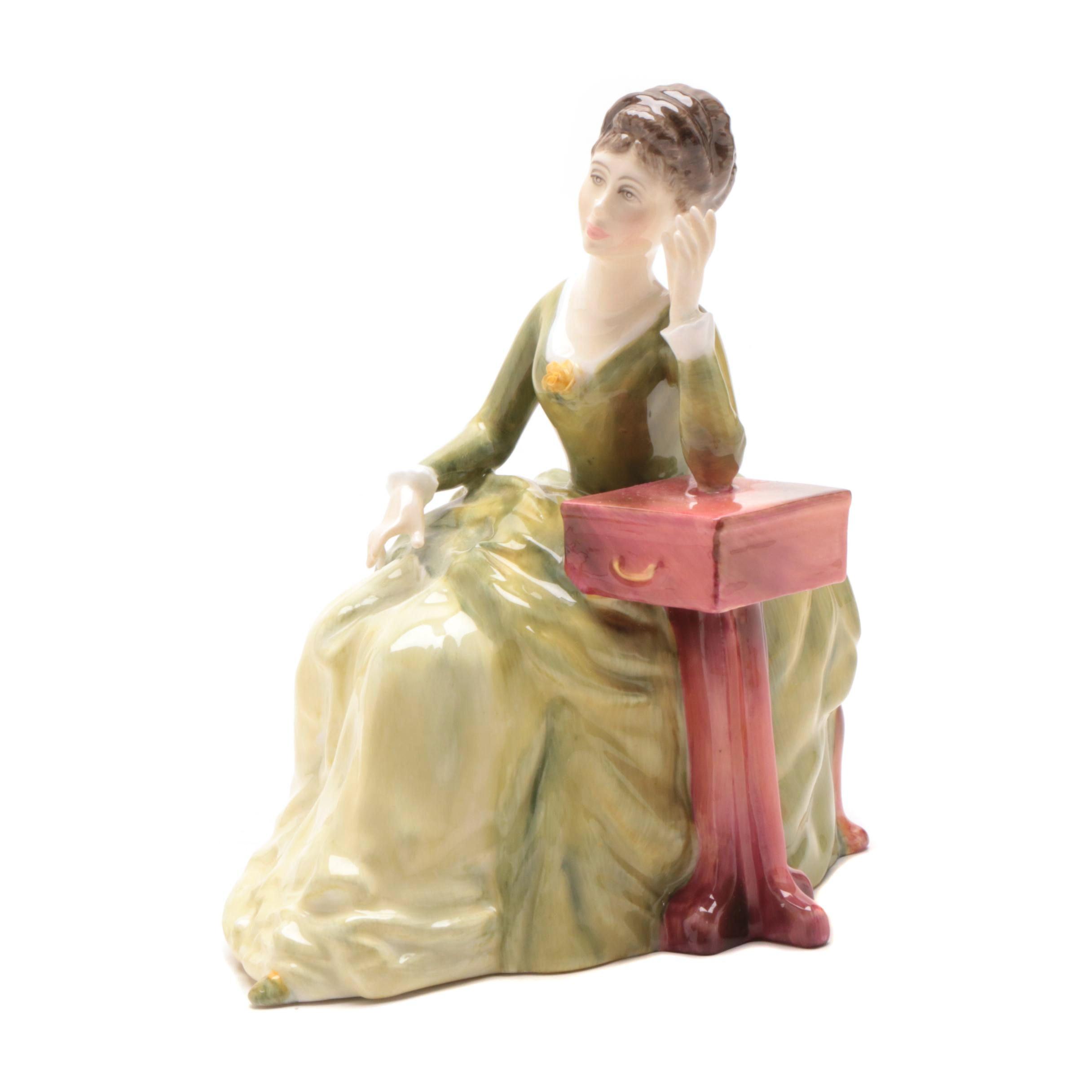 "Royal Doulton ""Carolyn"" Bone China Figurine"