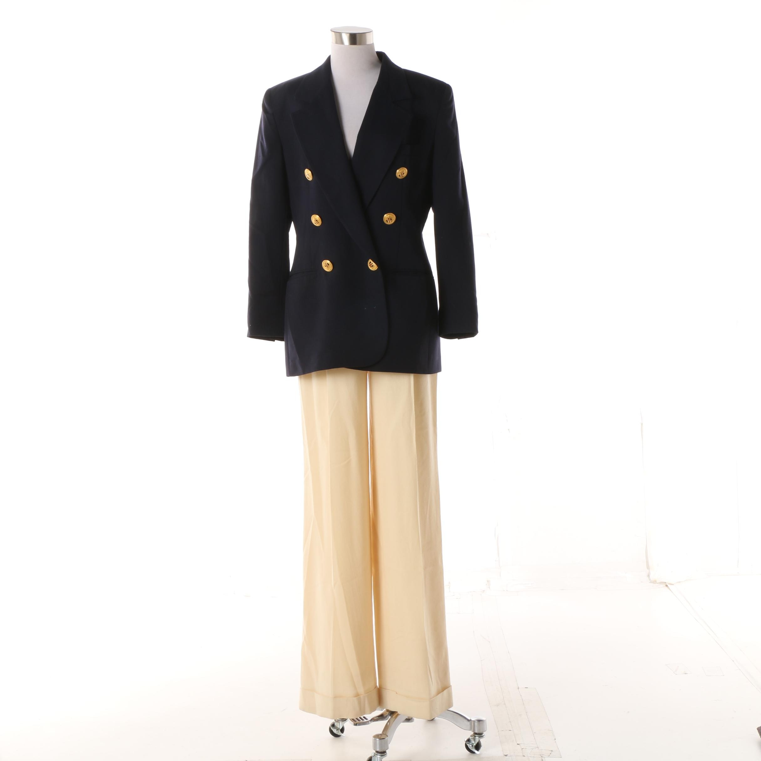 Women's 1980s Vintage Christian Dior Separates including Paris Boutique Trousers