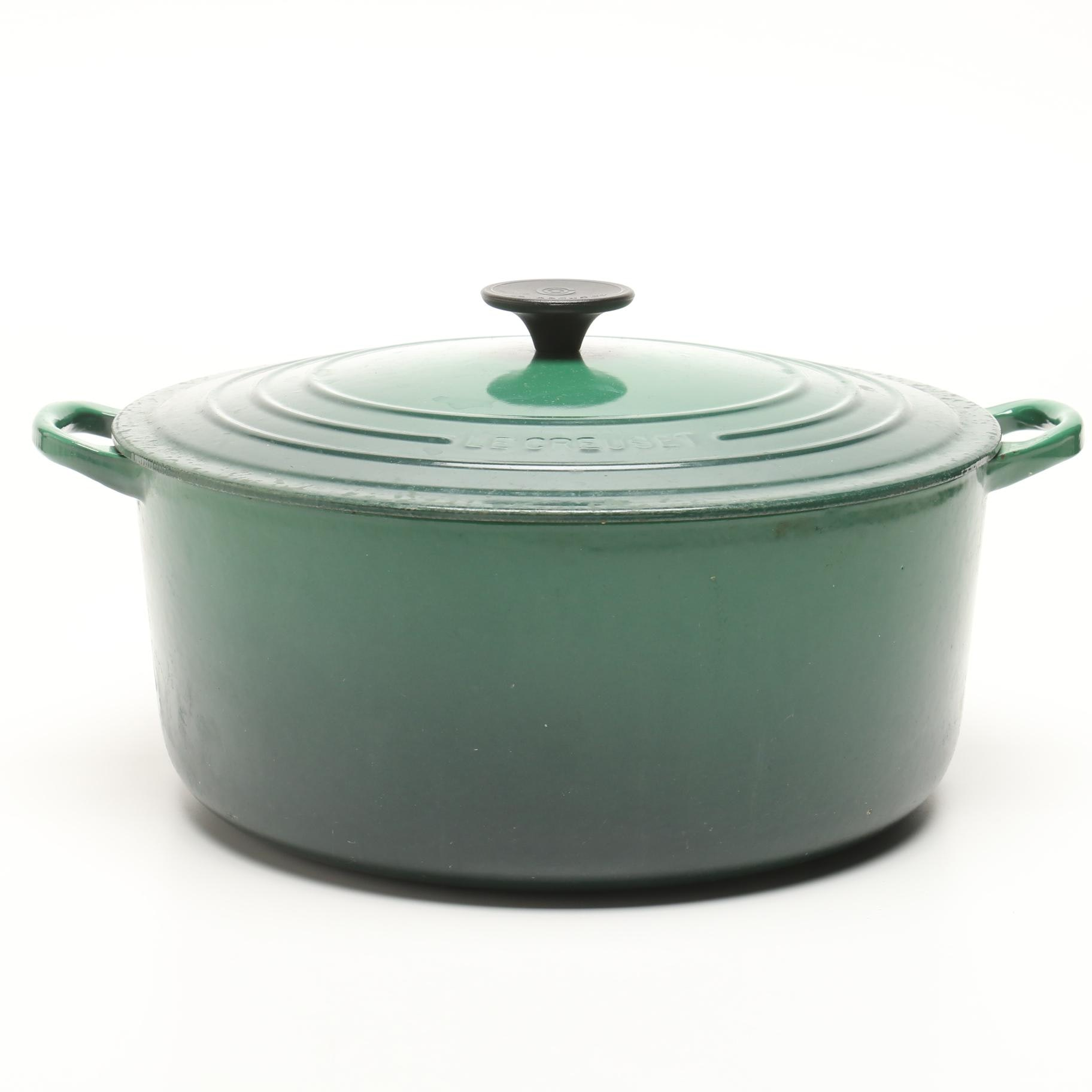 Le Creuset Green Lidded Stockpot