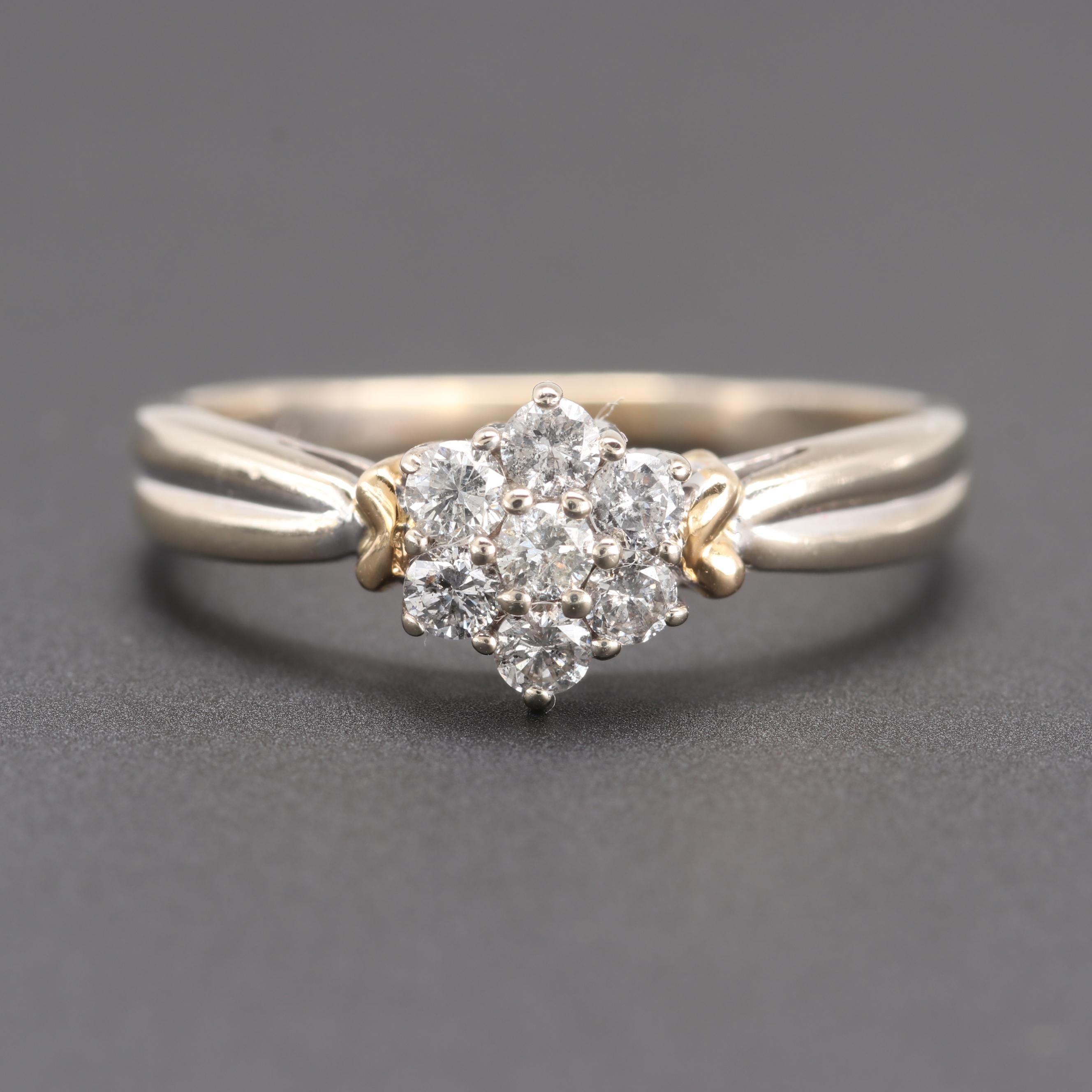 Helzberg Diamonds 14K White Gold Diamond Ring
