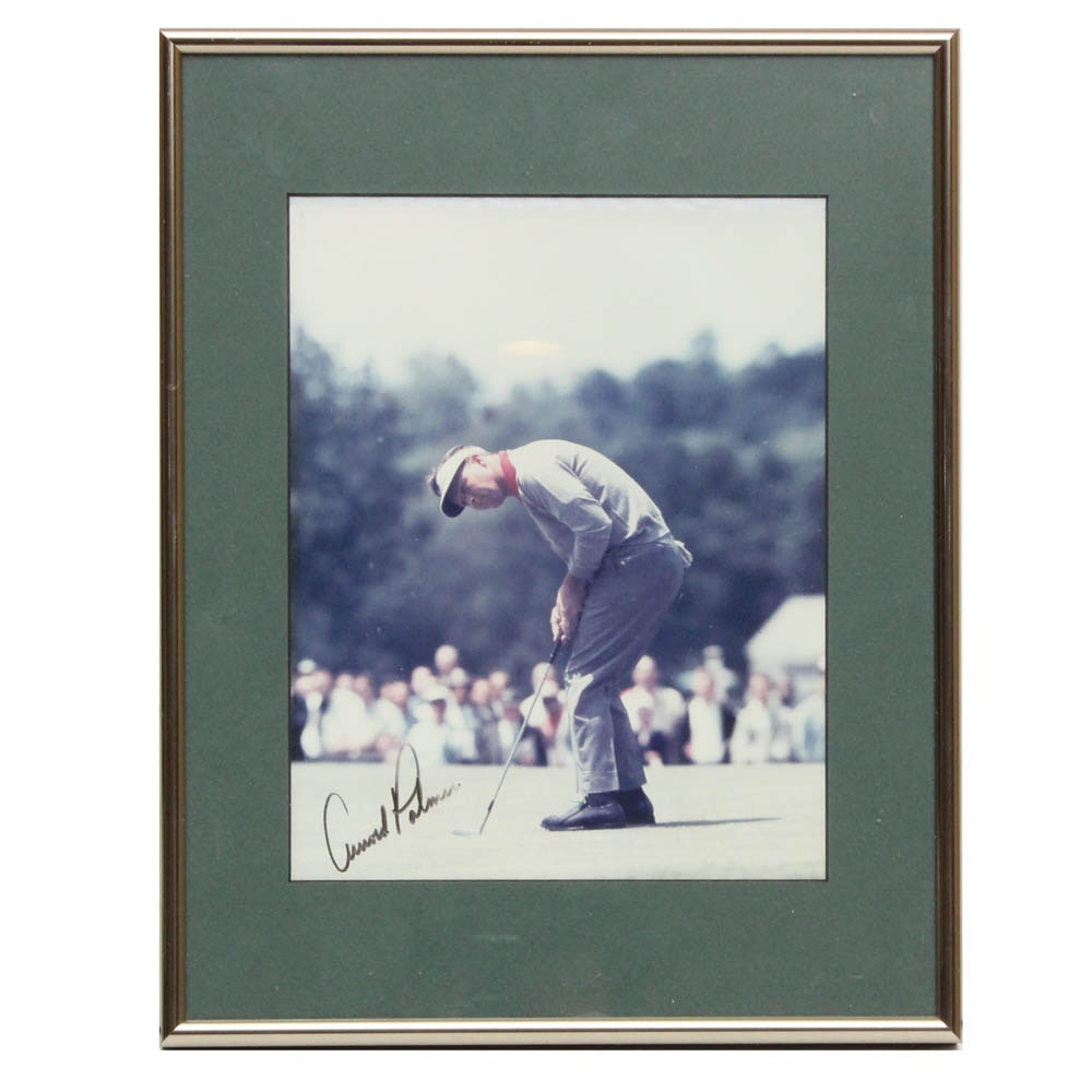 Arnold Palmer Signed Photograph