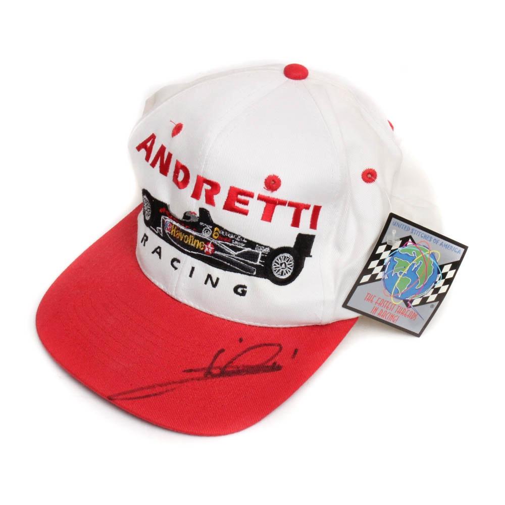 Mario Andretti Signed Hat