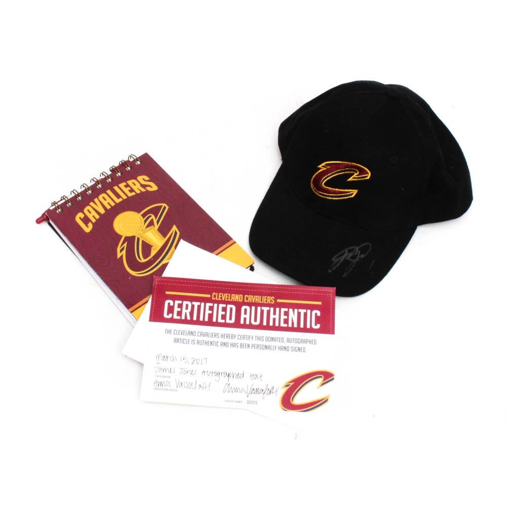 Cleveland Cavaliers James Jones Autographed Hat with COA