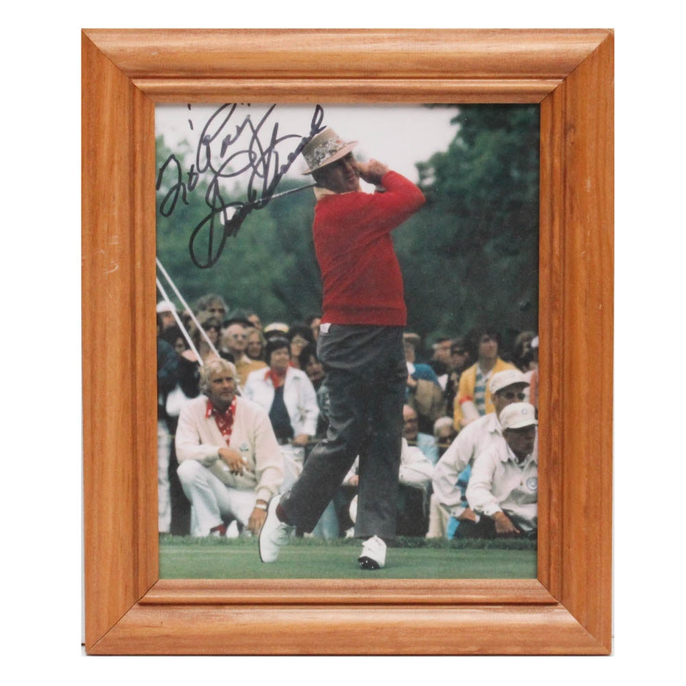 Sam Snead Signed Photograph