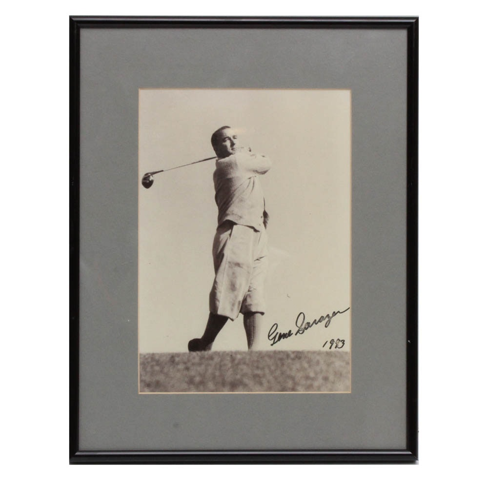 Gene Sarazen Signed Photograph