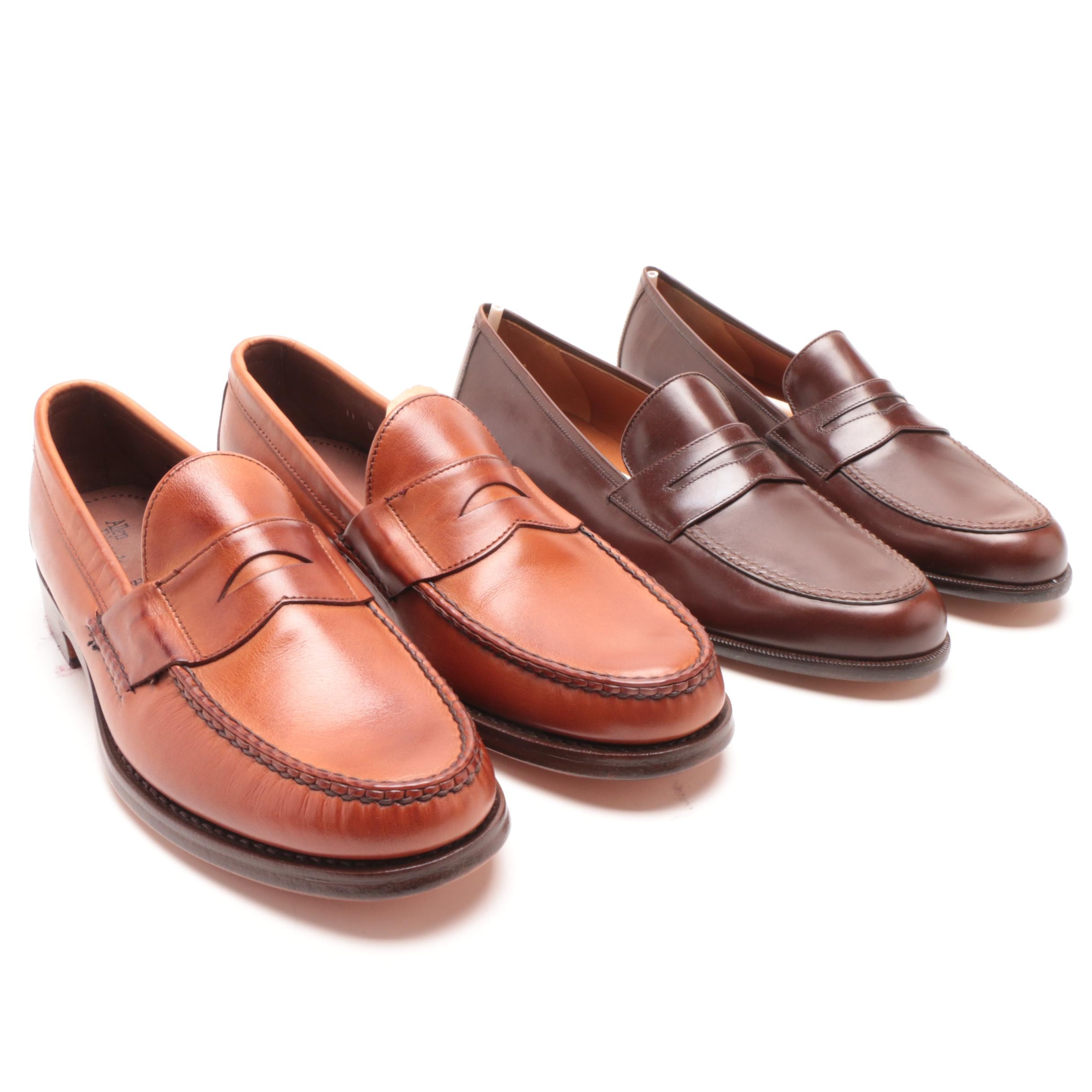 Men's Salvatore Ferragamo and Allen Edmonds Leather Loafers
