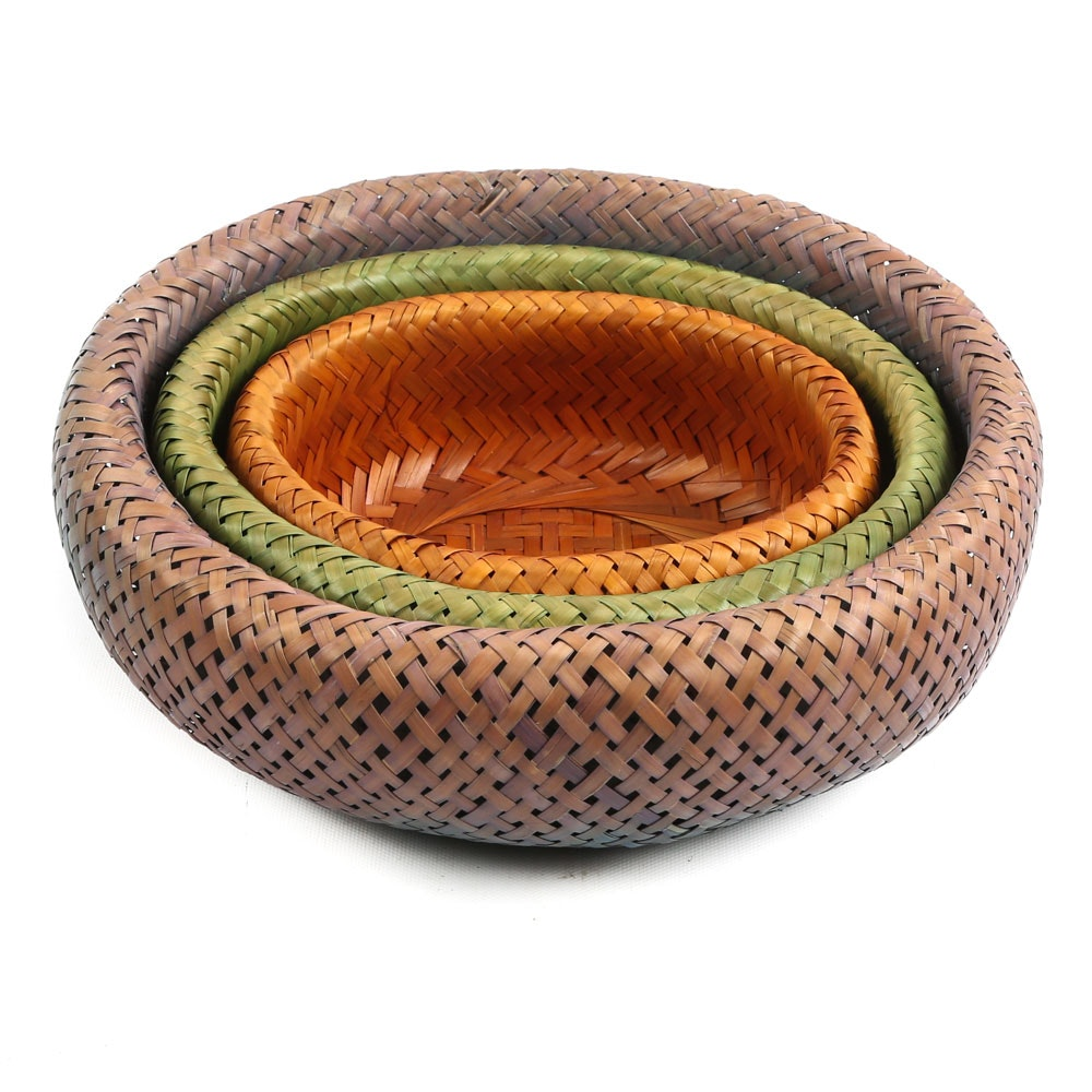 Petite Woven Nested Baskets