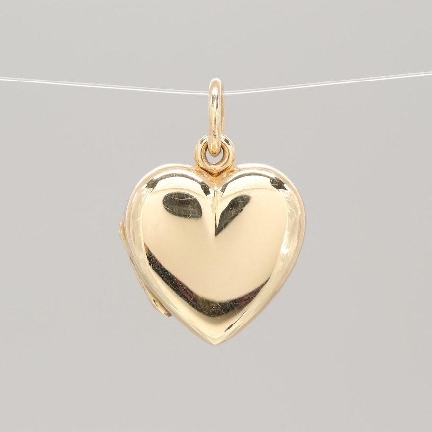 d8f8cf878 Tiffany & Co. 14K Yellow Gold Heart Locket : EBTH