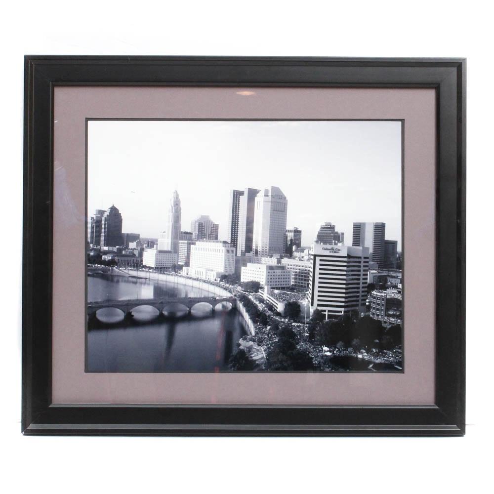 Digital Photographic Print of Columbus, Ohio