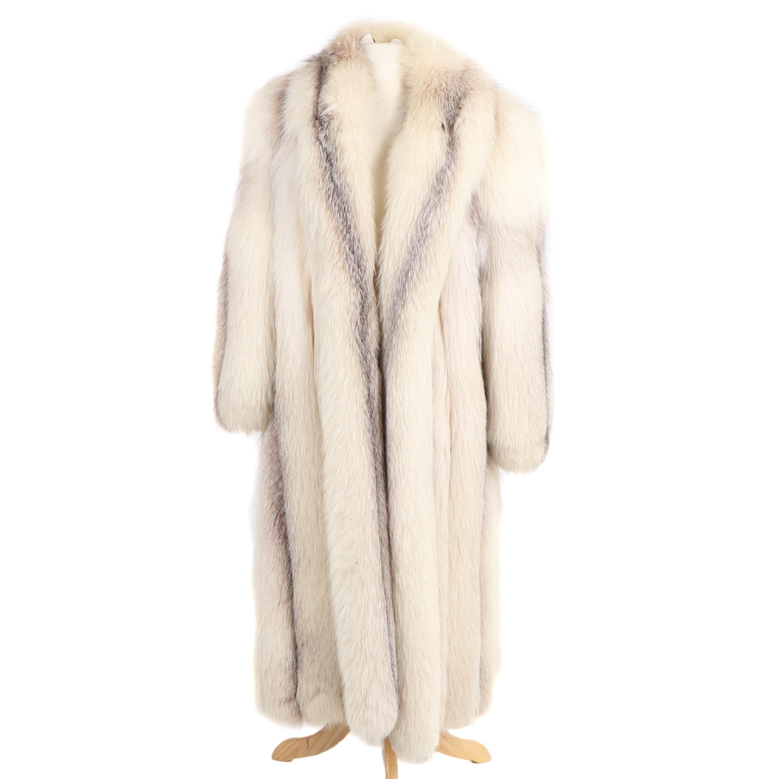 Arctic Fox Full-Length Coat
