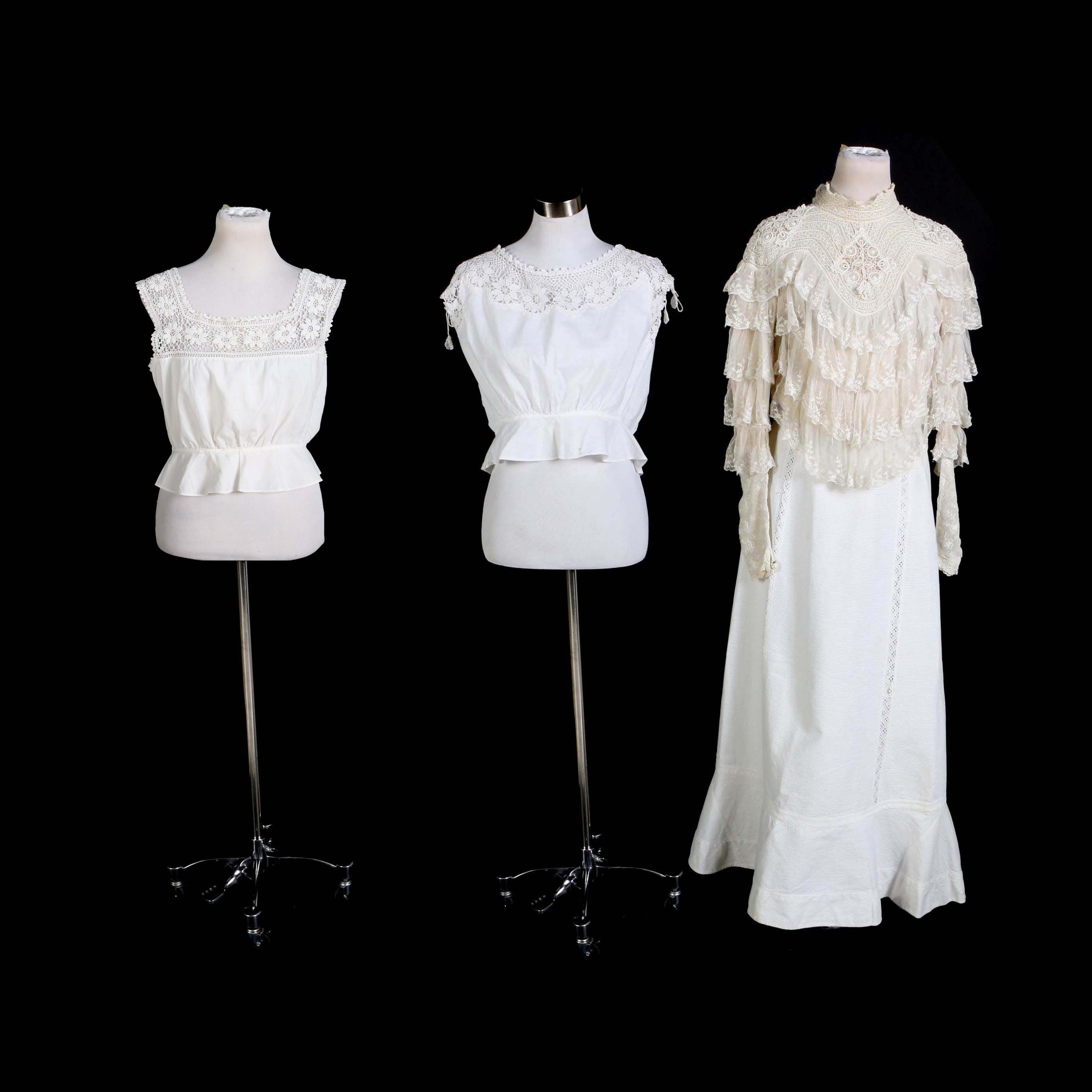 Late 19th Century Women's Clothing