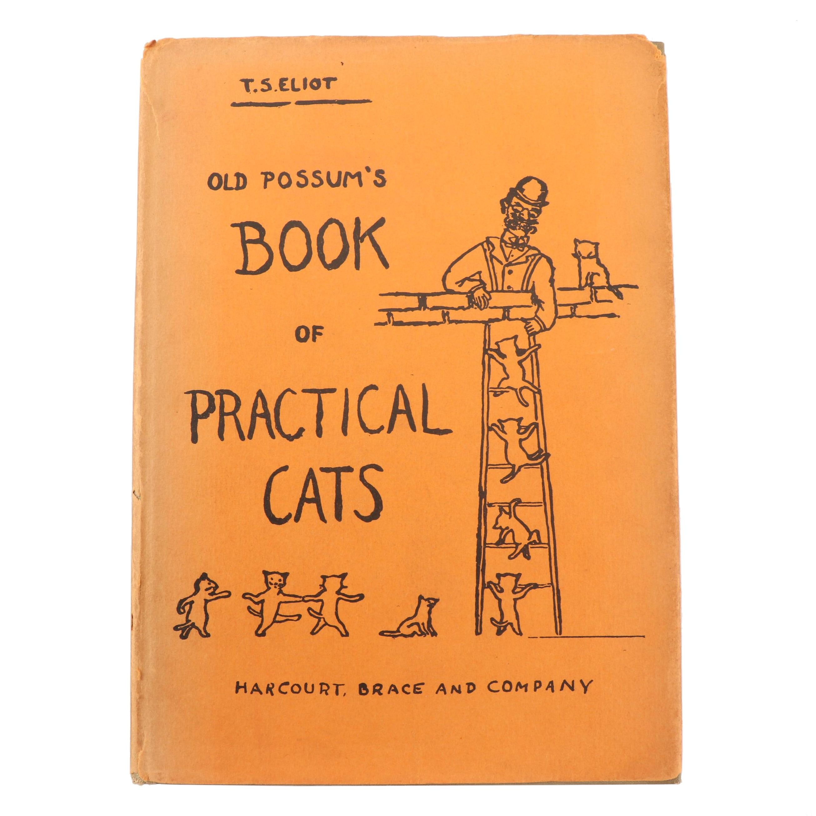 ELIOT, T.S. (1888-1965), Old Possum's Book of Practical Cats​, New York, 1939