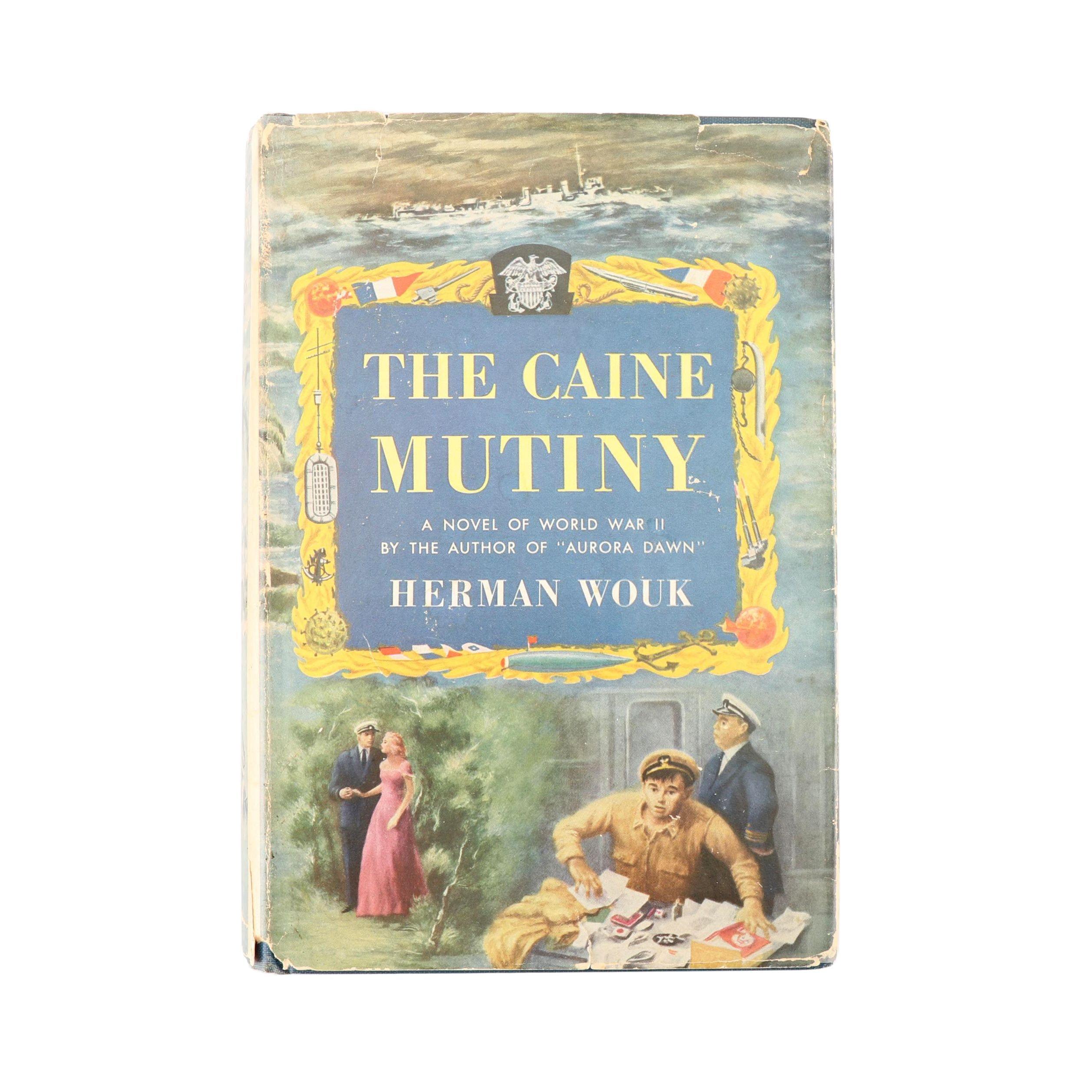 WOUK, Herman, The Caine Mutiny, New York, 1951