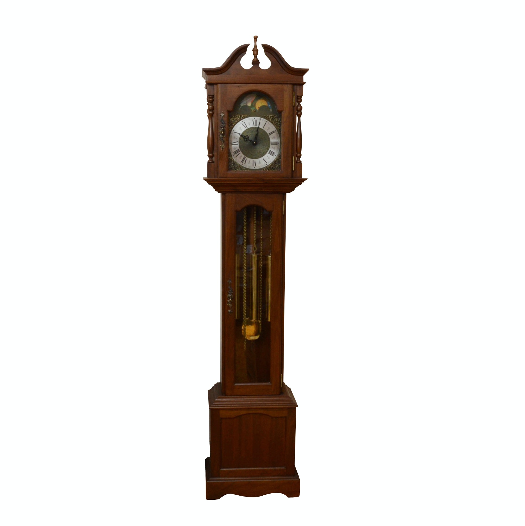 Emperor Clock Co. Grandfather Clock