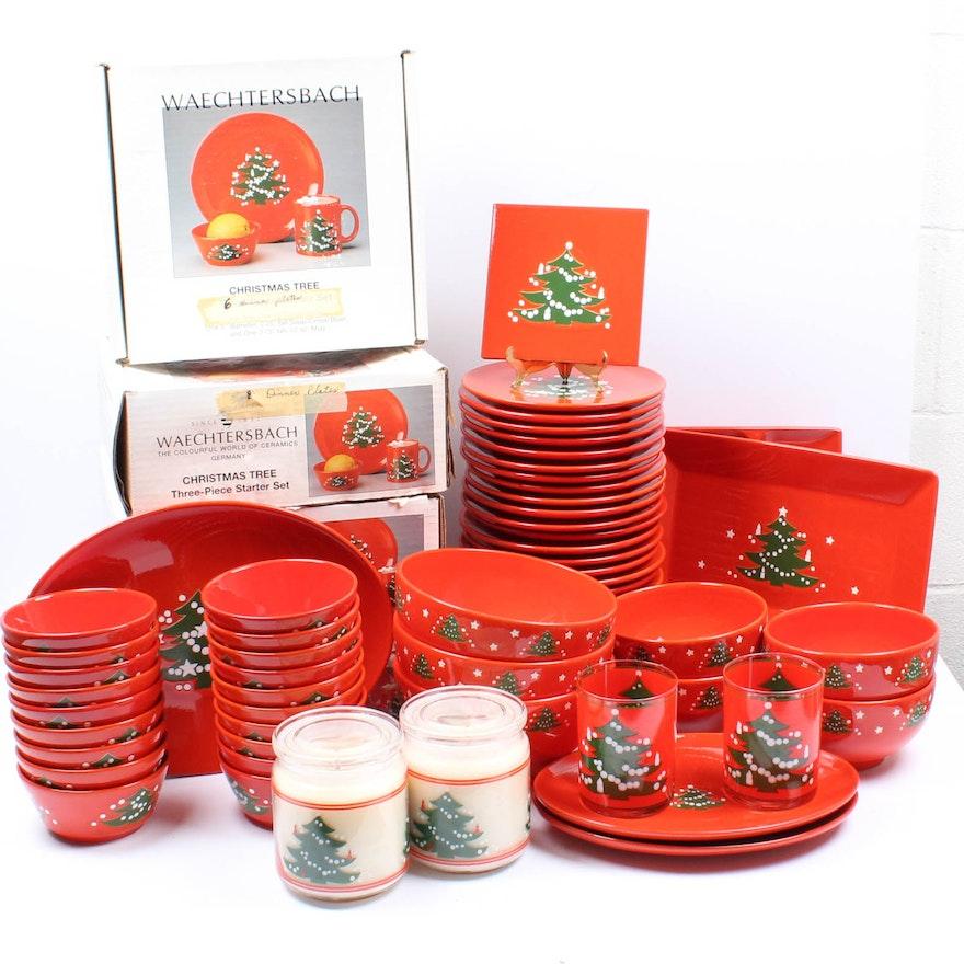 "Waechtersbach German Ceramic Tableware ""Christmas Tree"" | EBTH"